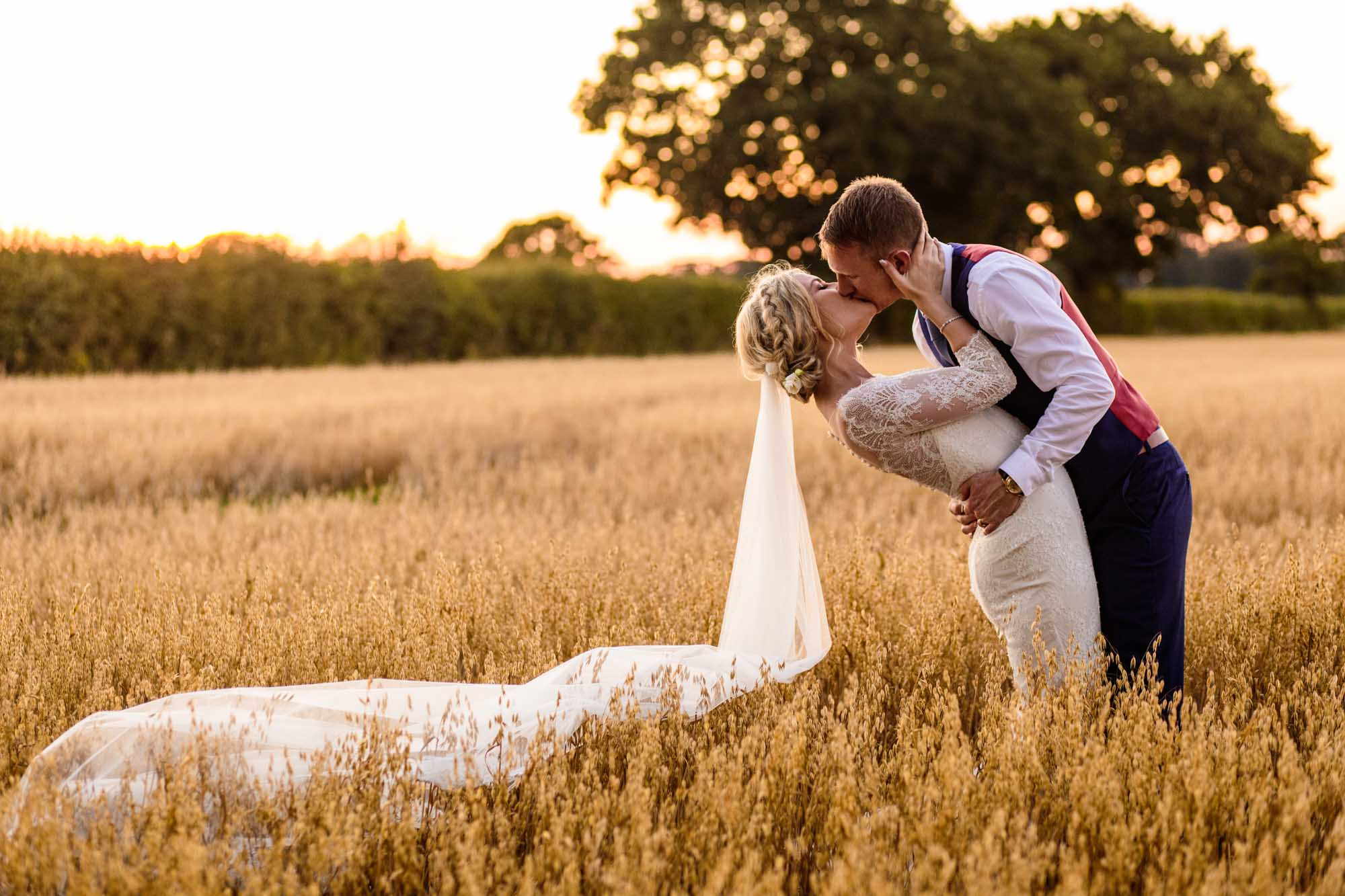 Stock Farm Wedding Barn Sunset Photographs