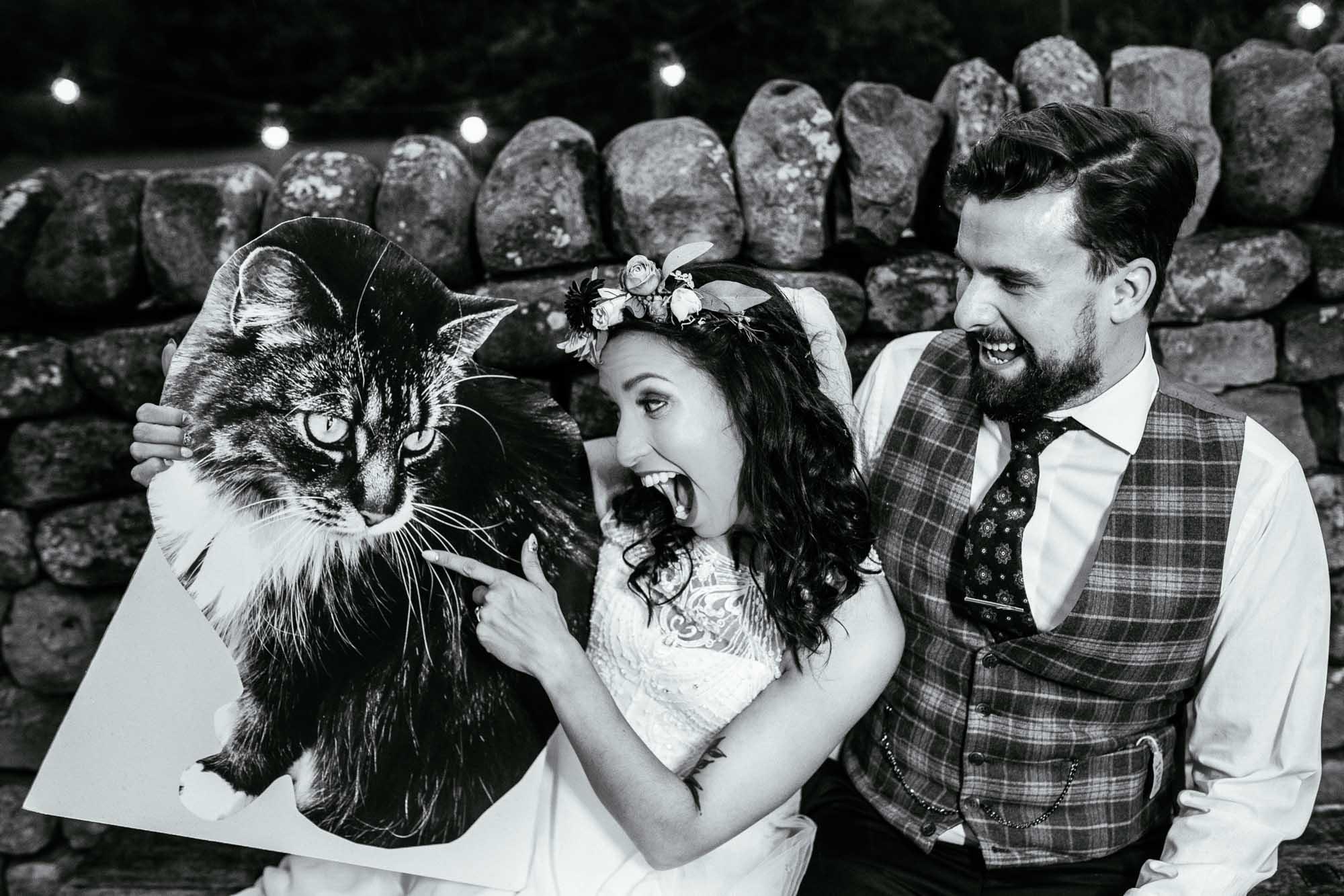 Alternative Wedding Photographer Out Barn