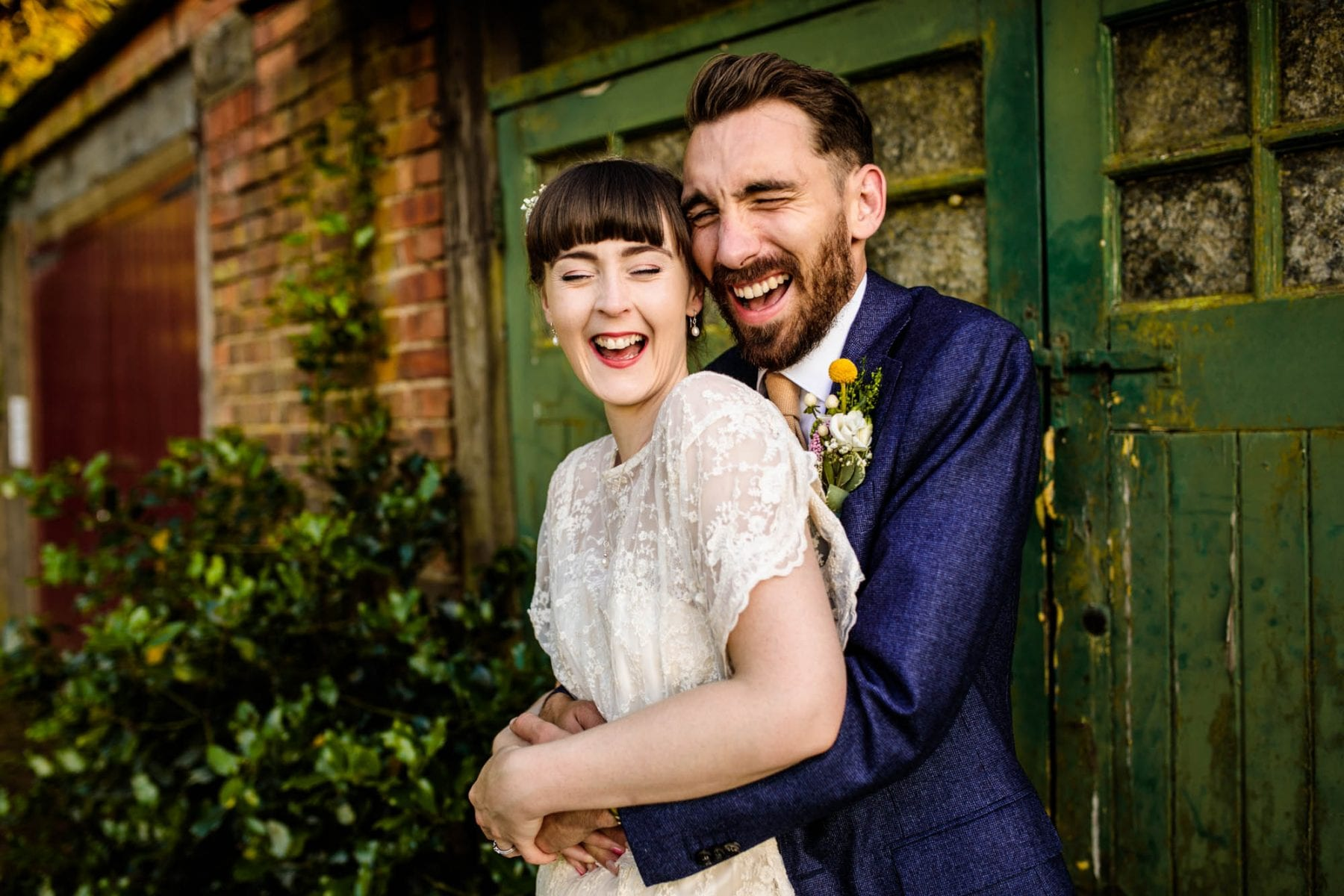 Colourful Barn Wedding Photography