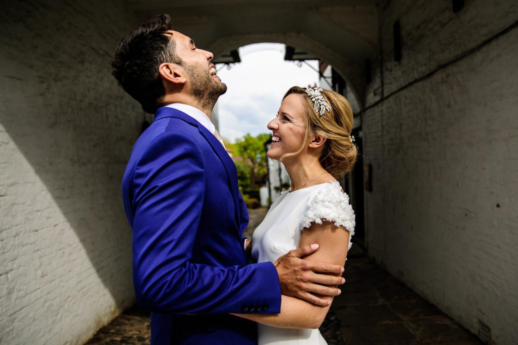 Fun Wedding Photographs Belle Epoque