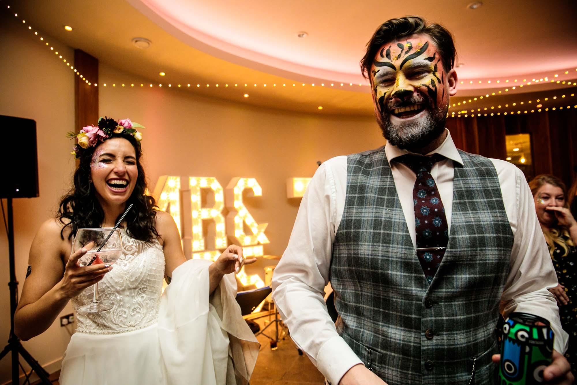 Out Barn Clough Bottom Alternative Wedding Photographs