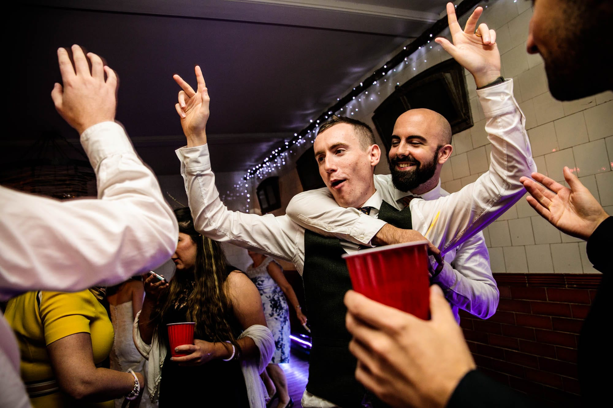 Plas Dinam Fun Wedding Photos