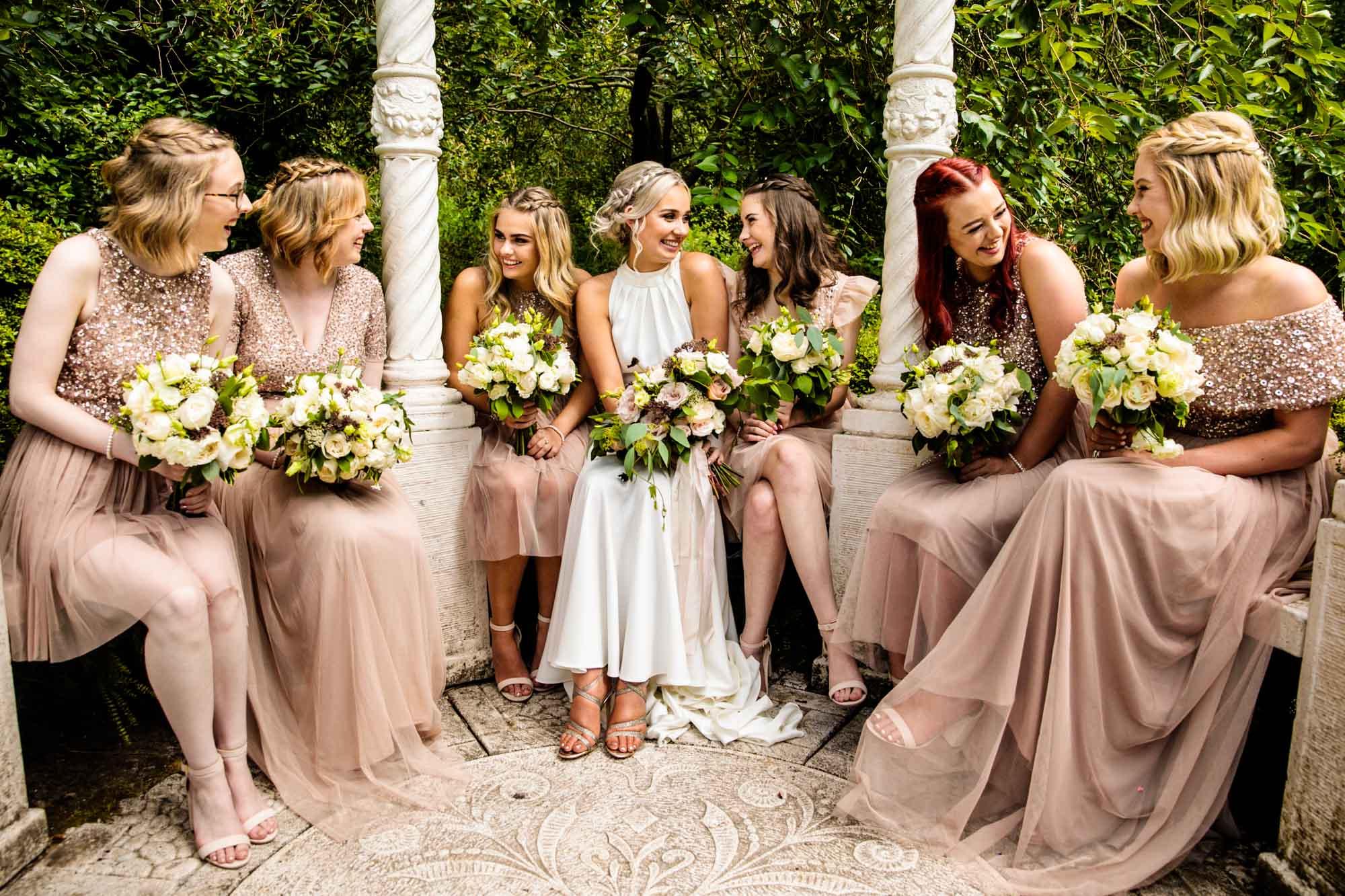 The Mill Barns Colourful Wedding Photographer
