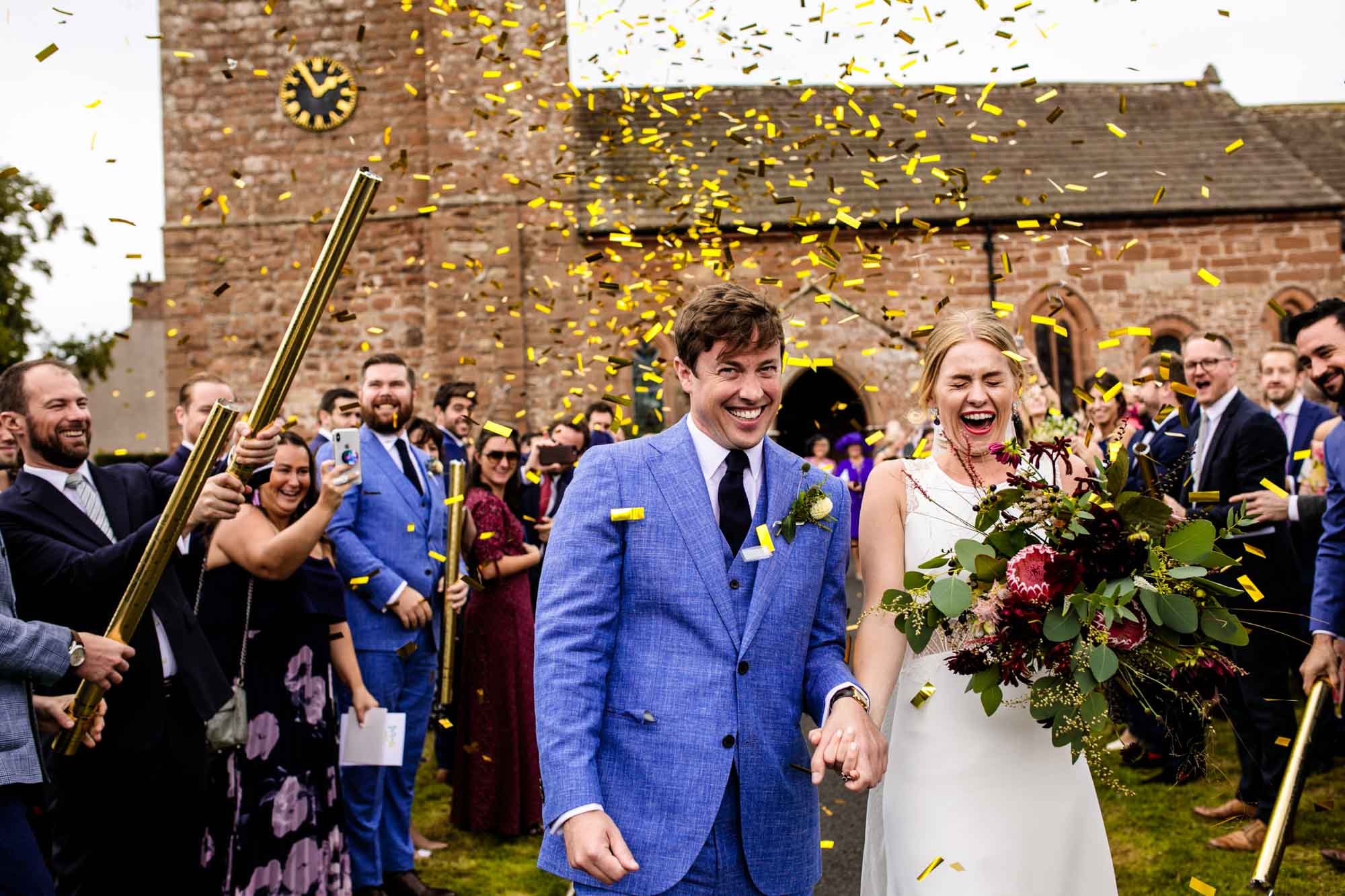Weddings St Cuthberts Great Salkeld