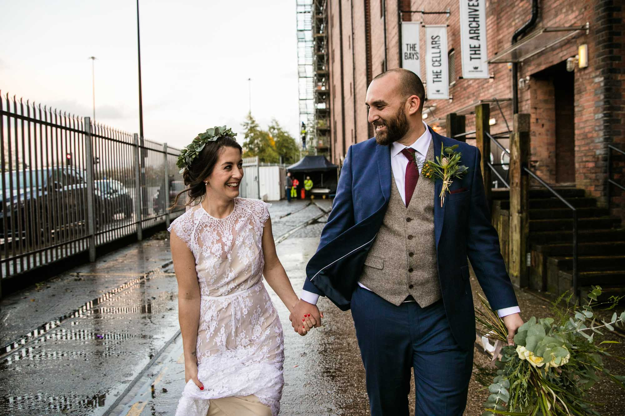 Boho Wedding at Victoria Warehouse