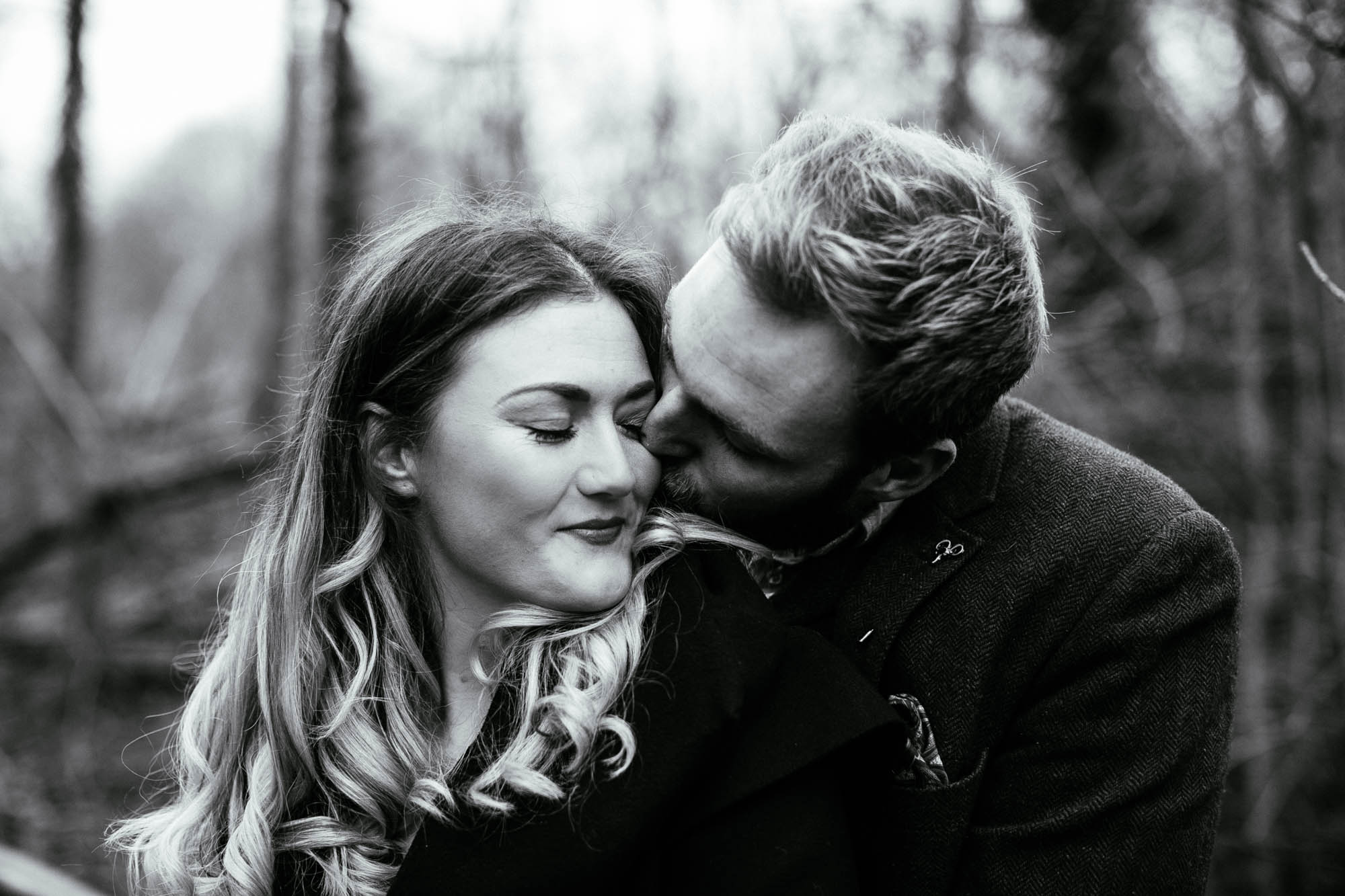Fletcher Moss Engagement Photographs