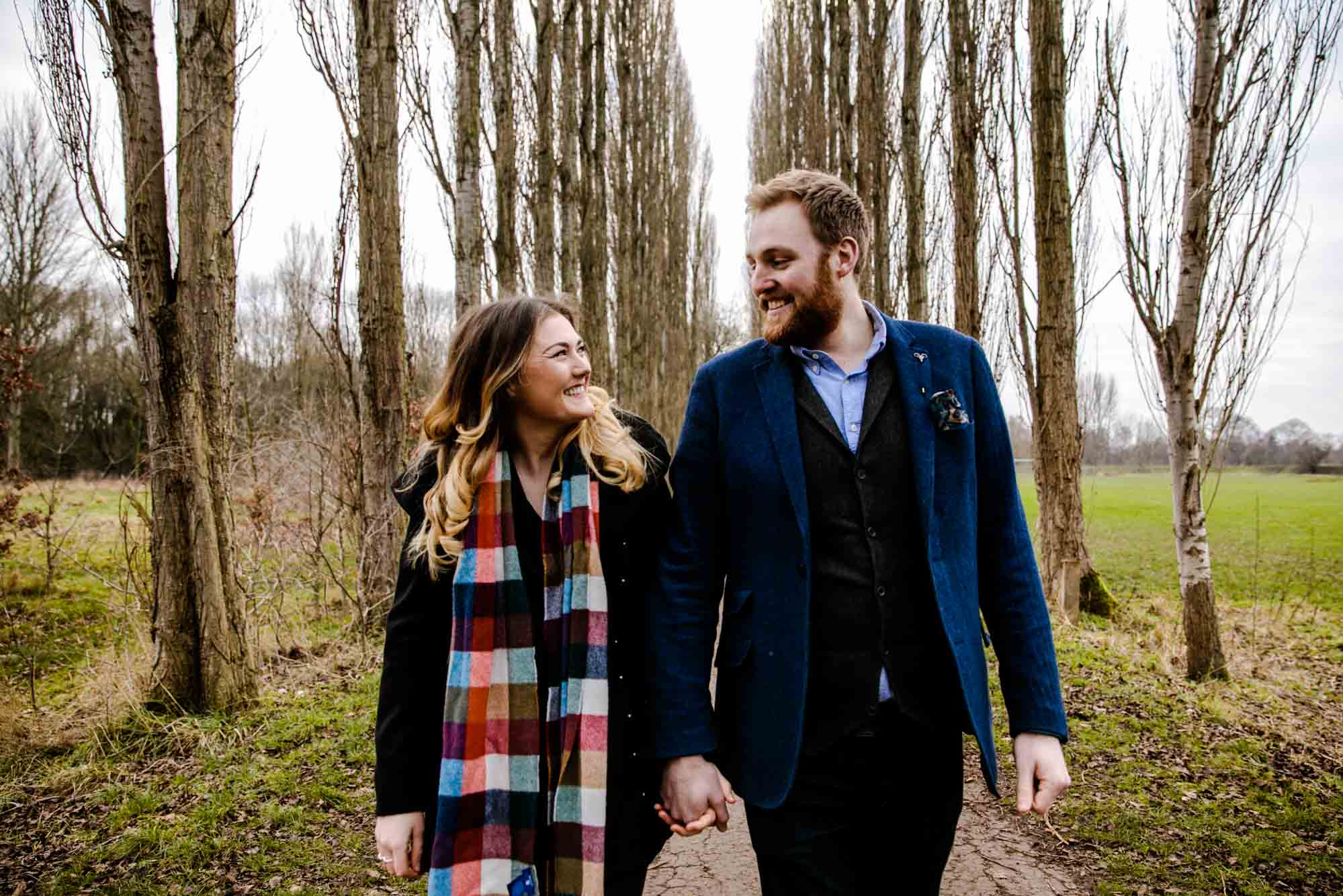 Fletcher Moss Didsbury Engagement Shoot