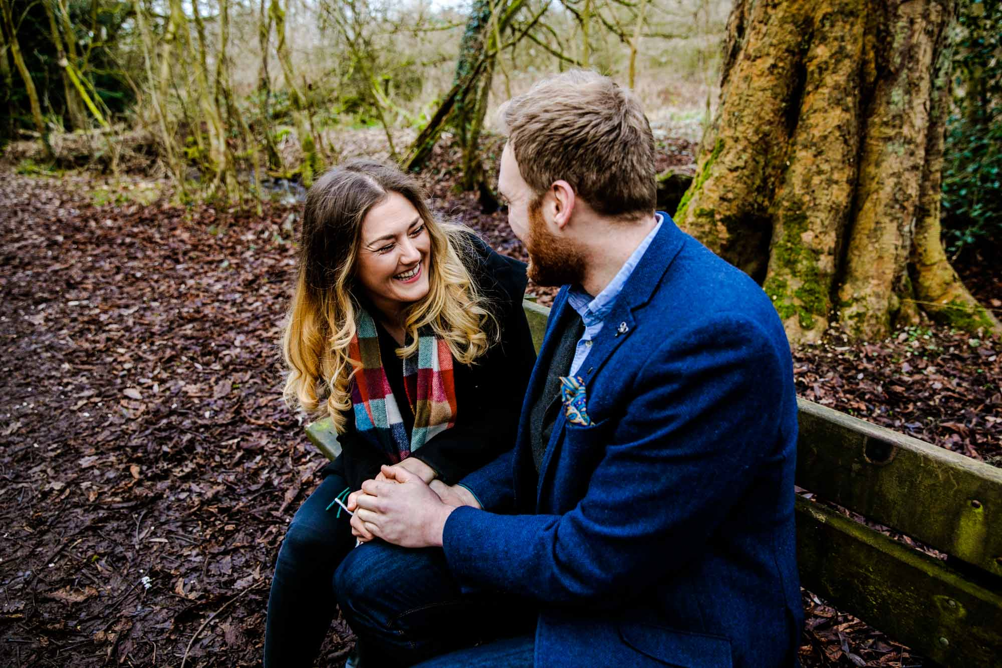 Engagement Shoot Fletcher Moss Didsbury