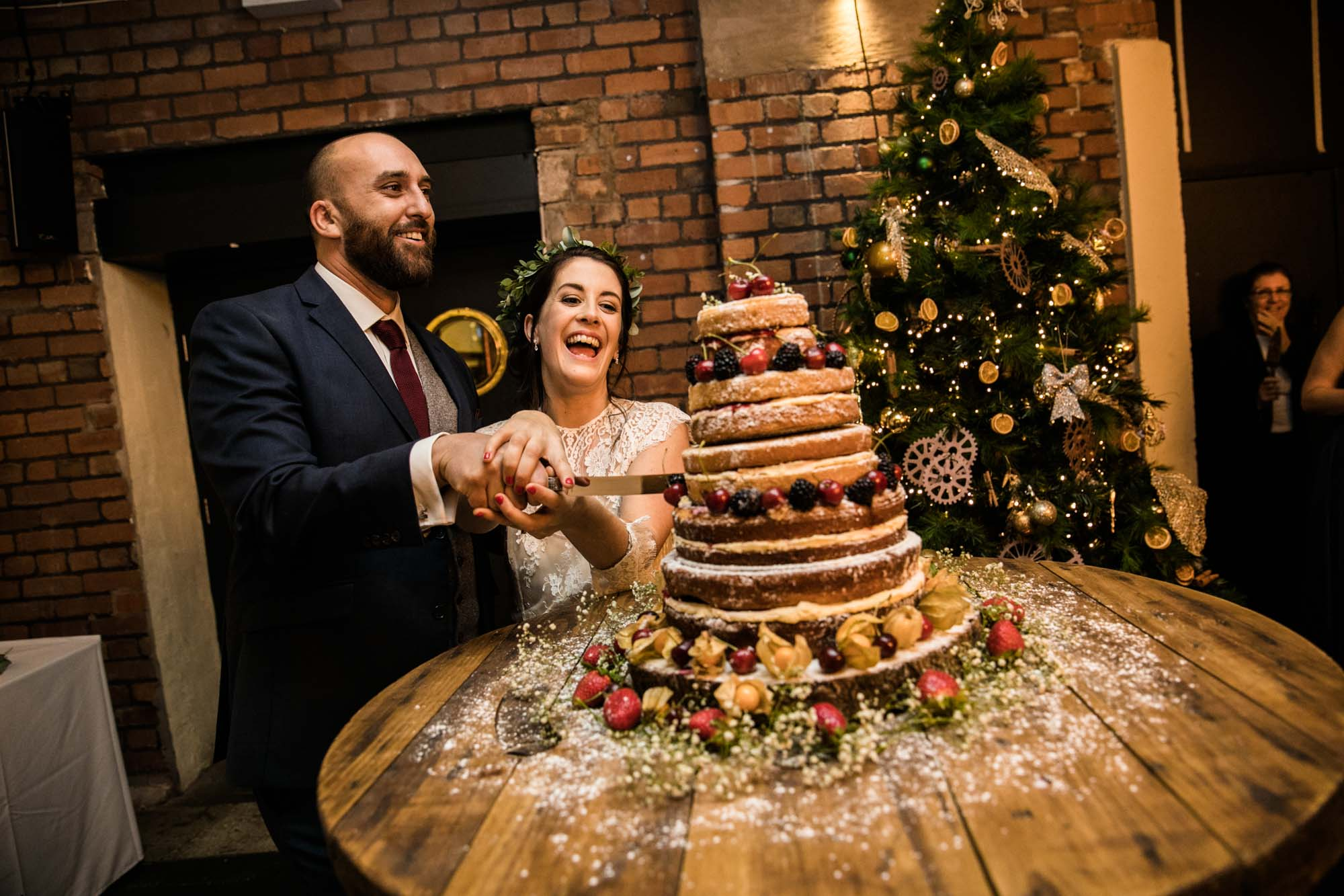 Natural Wedding Photographer Victoria Warehouse