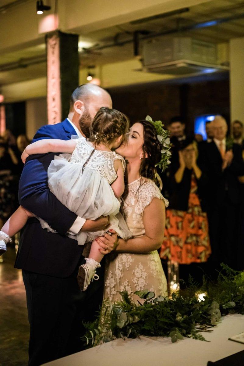 Victoria Warehouse Boho Wedding Photographs