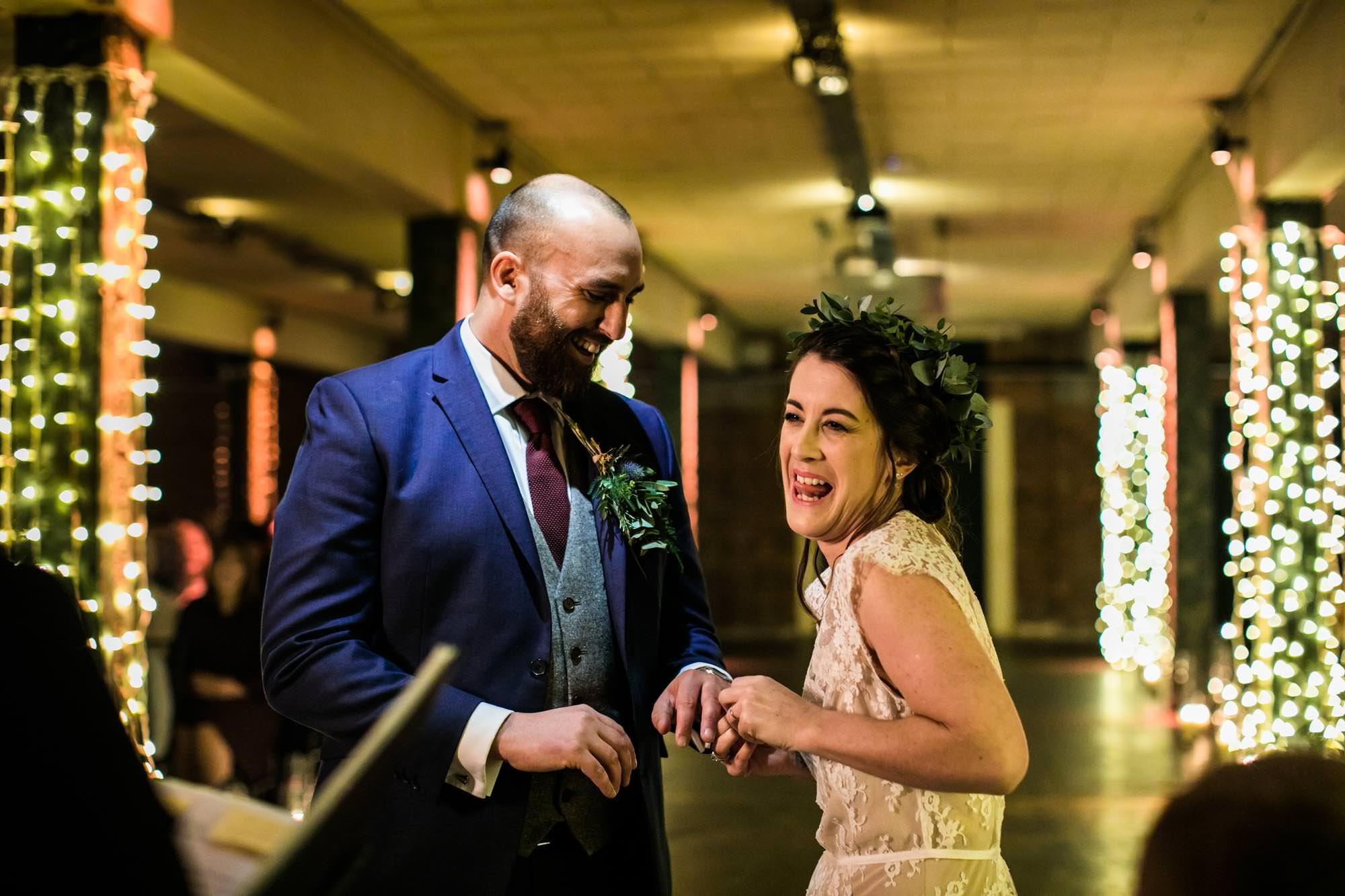 Victoria Warehouse Boho Wedding Photography
