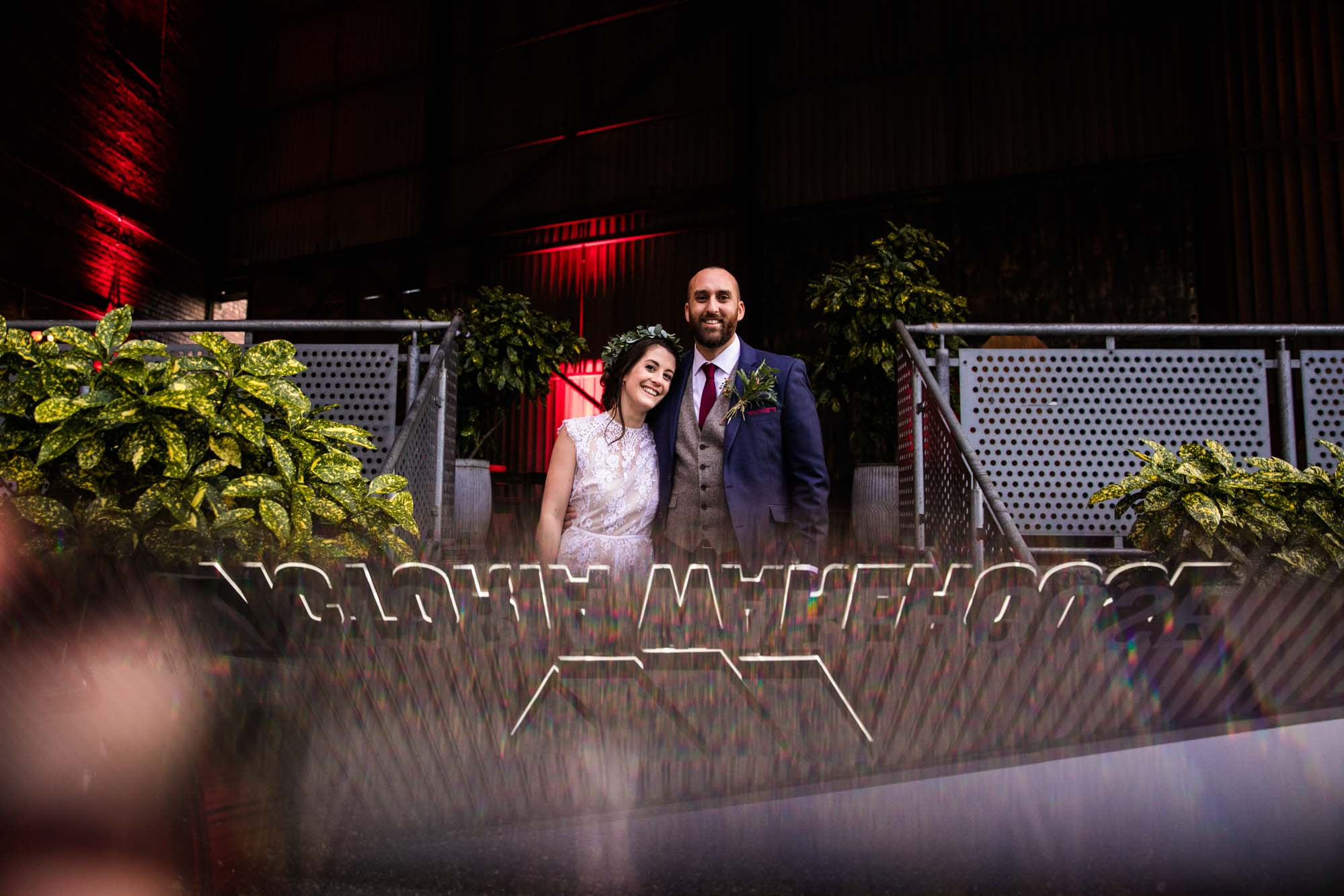 Wedding Photography Victoria Warehouse