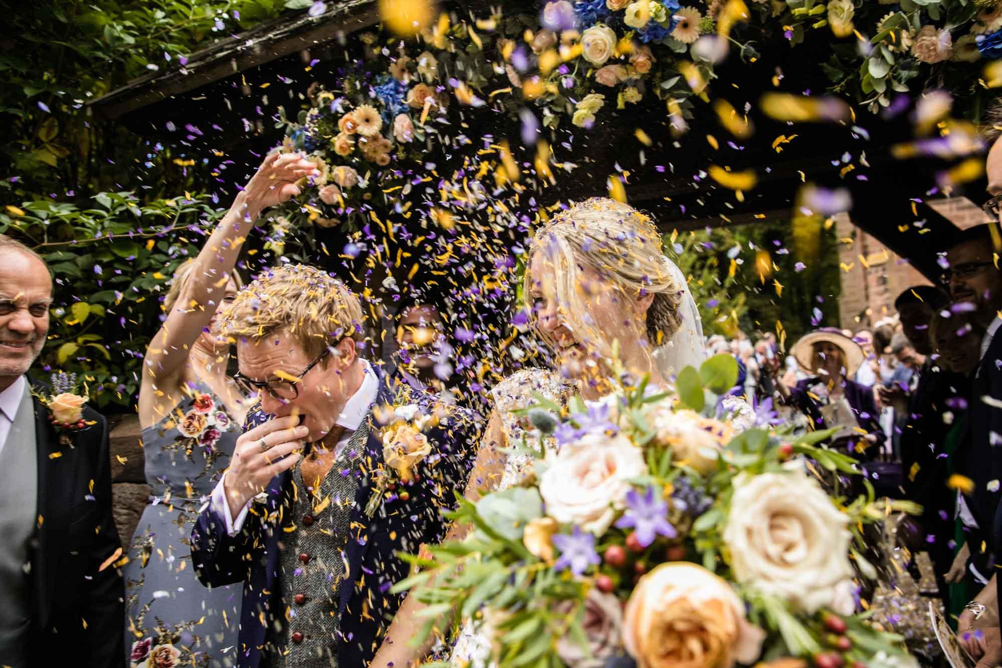 Cheshire Documentary Wedding Photographs