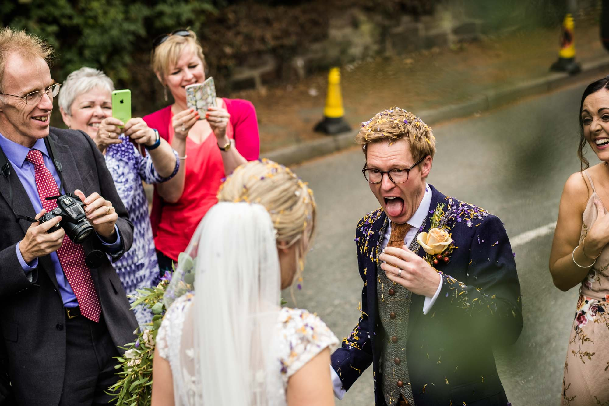 Cheshire Documentary Wedding Photos