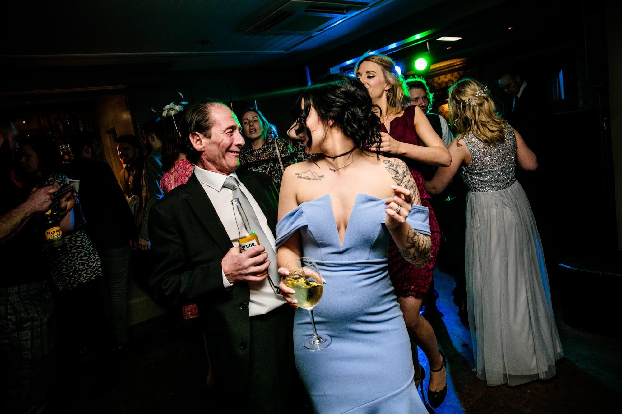Great John Street Hotel Fun Wedding Photographer