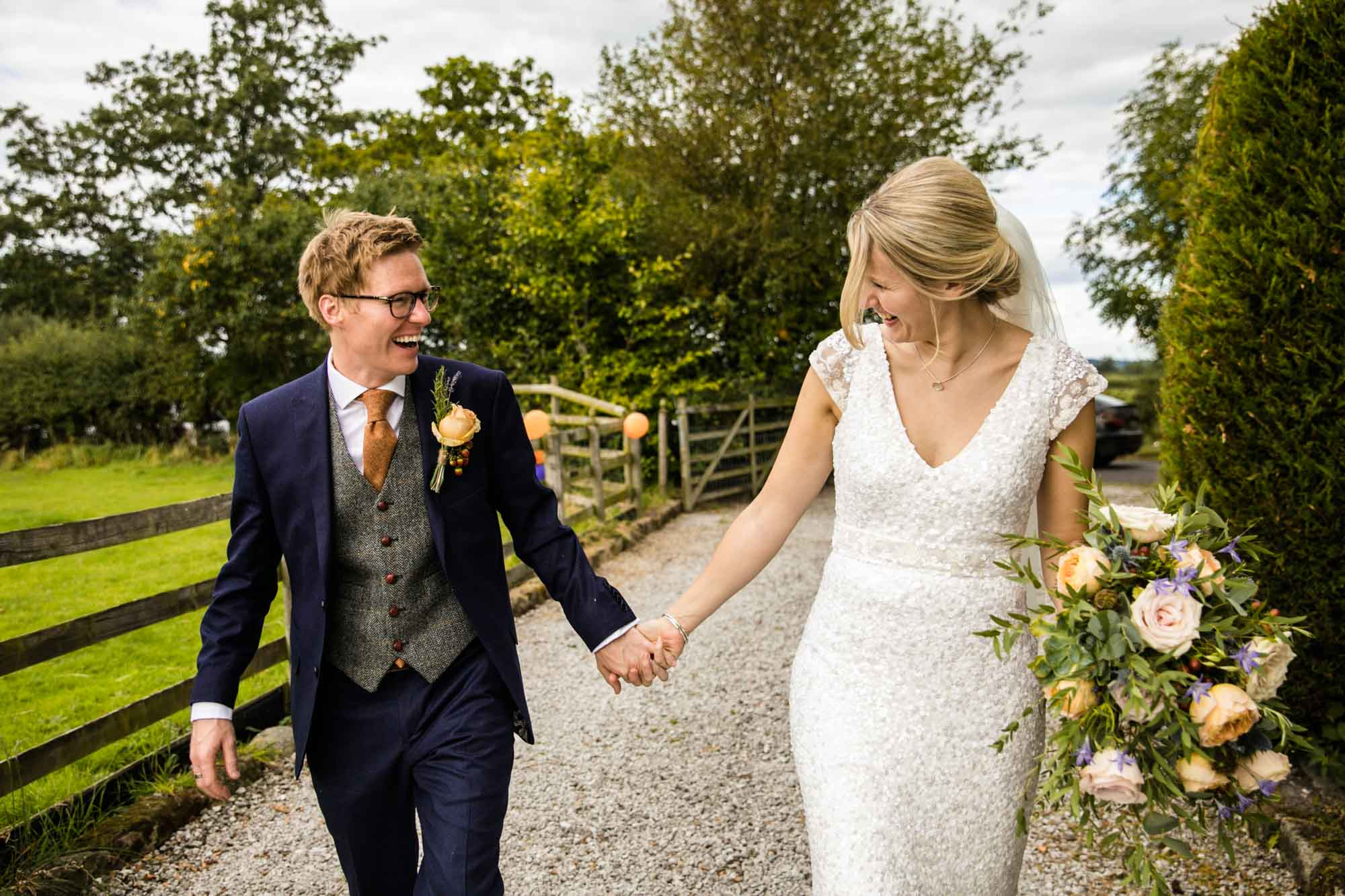 Natural Wedding Photographs Cheshire