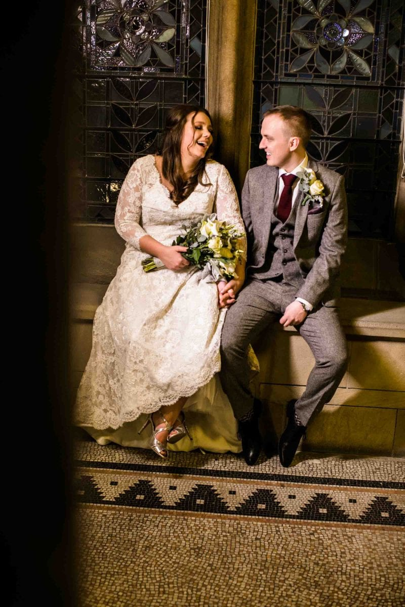 Natural Wedding Photographs Manchester Museum