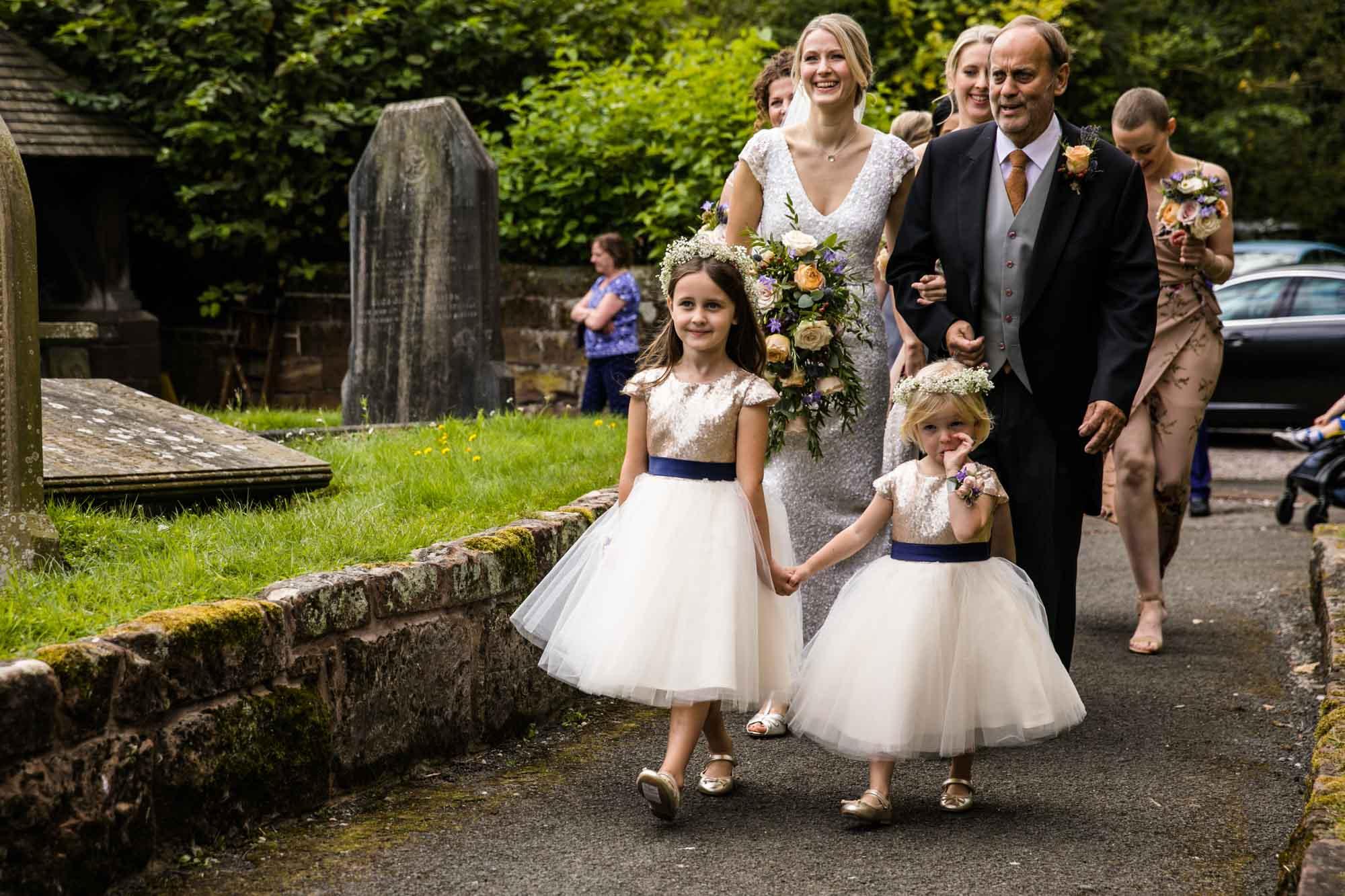 St Oswalds Church Backford Wedding Photographer