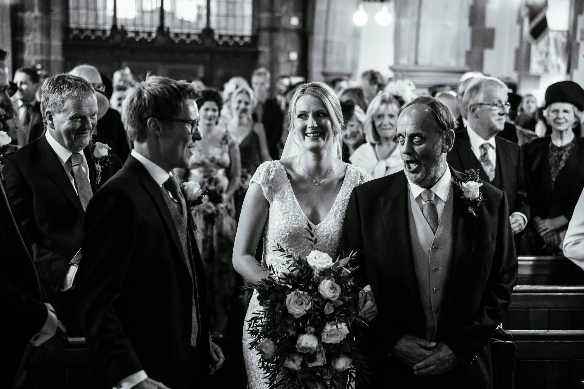 St Oswalds Church Backford Wedding Photos