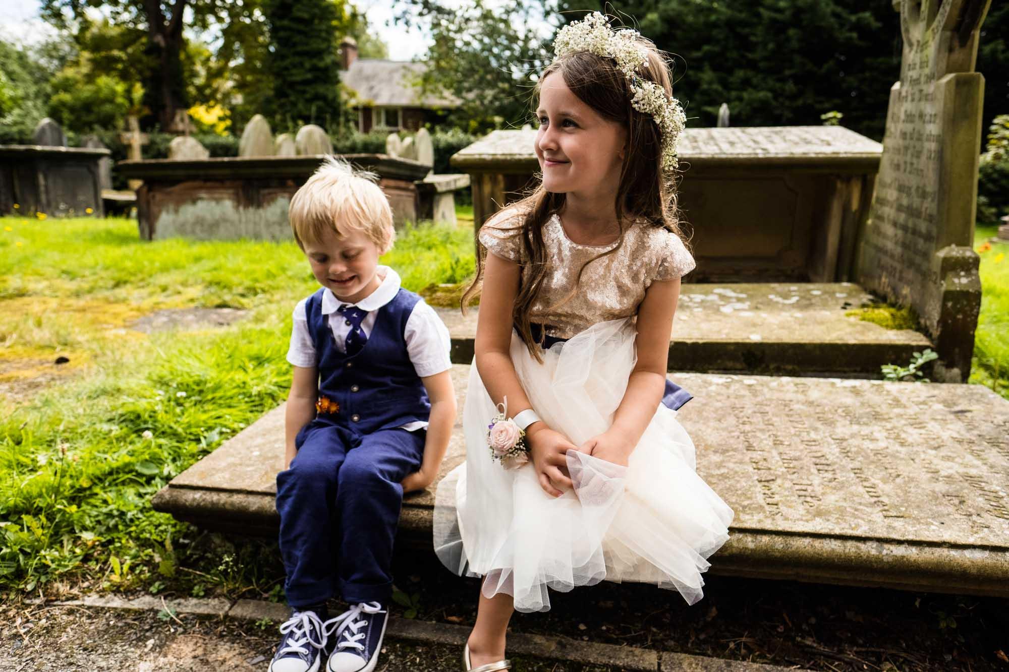 St Oswalds Church Backford Wedding