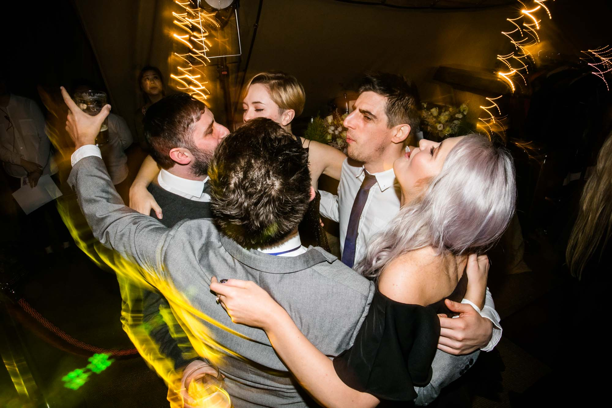 The Oast House Fun Wedding Photos