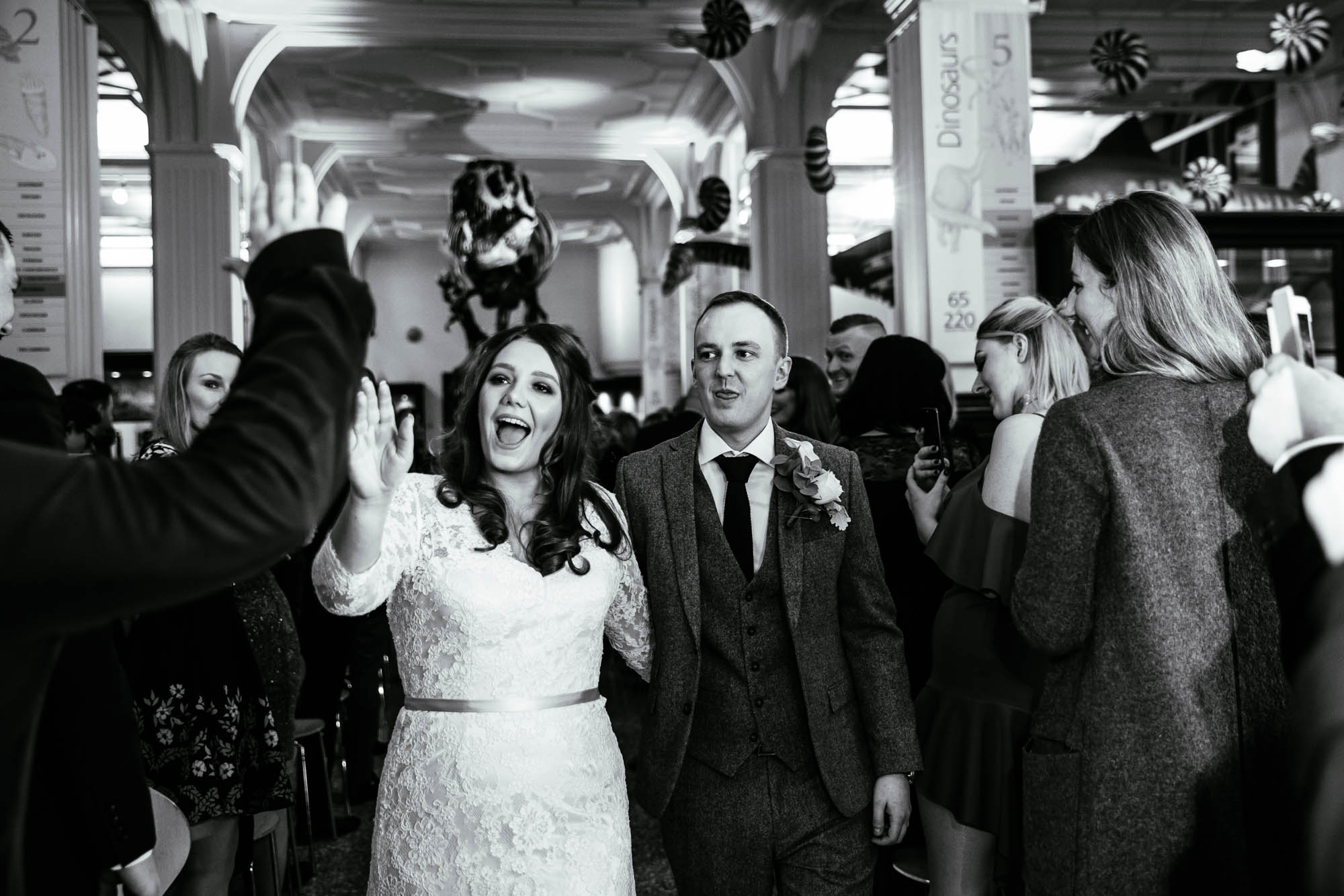 Wedding Ceremony Photographs Manchester Museum