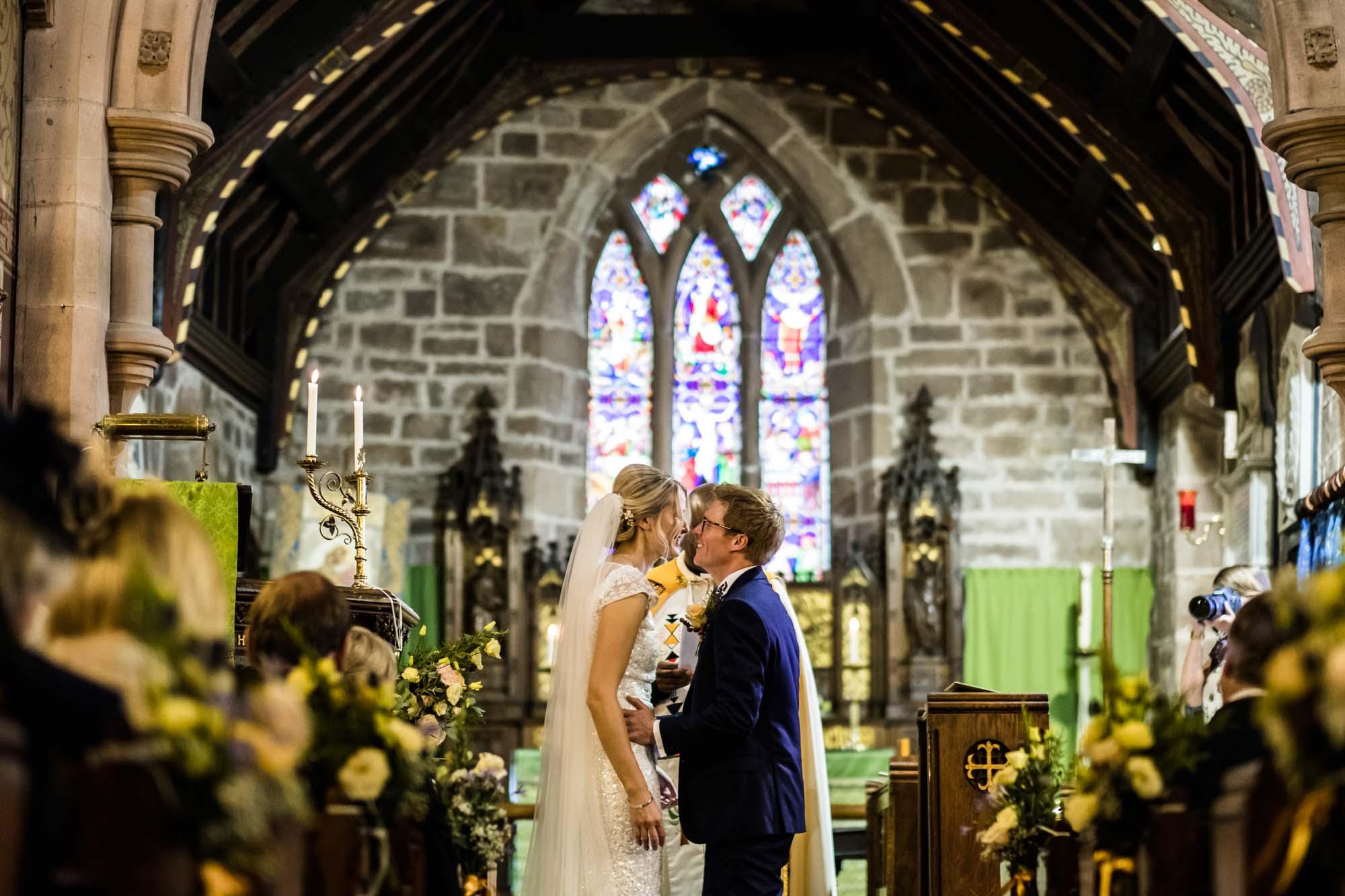 Wedding Photographer St Oswalds Backford