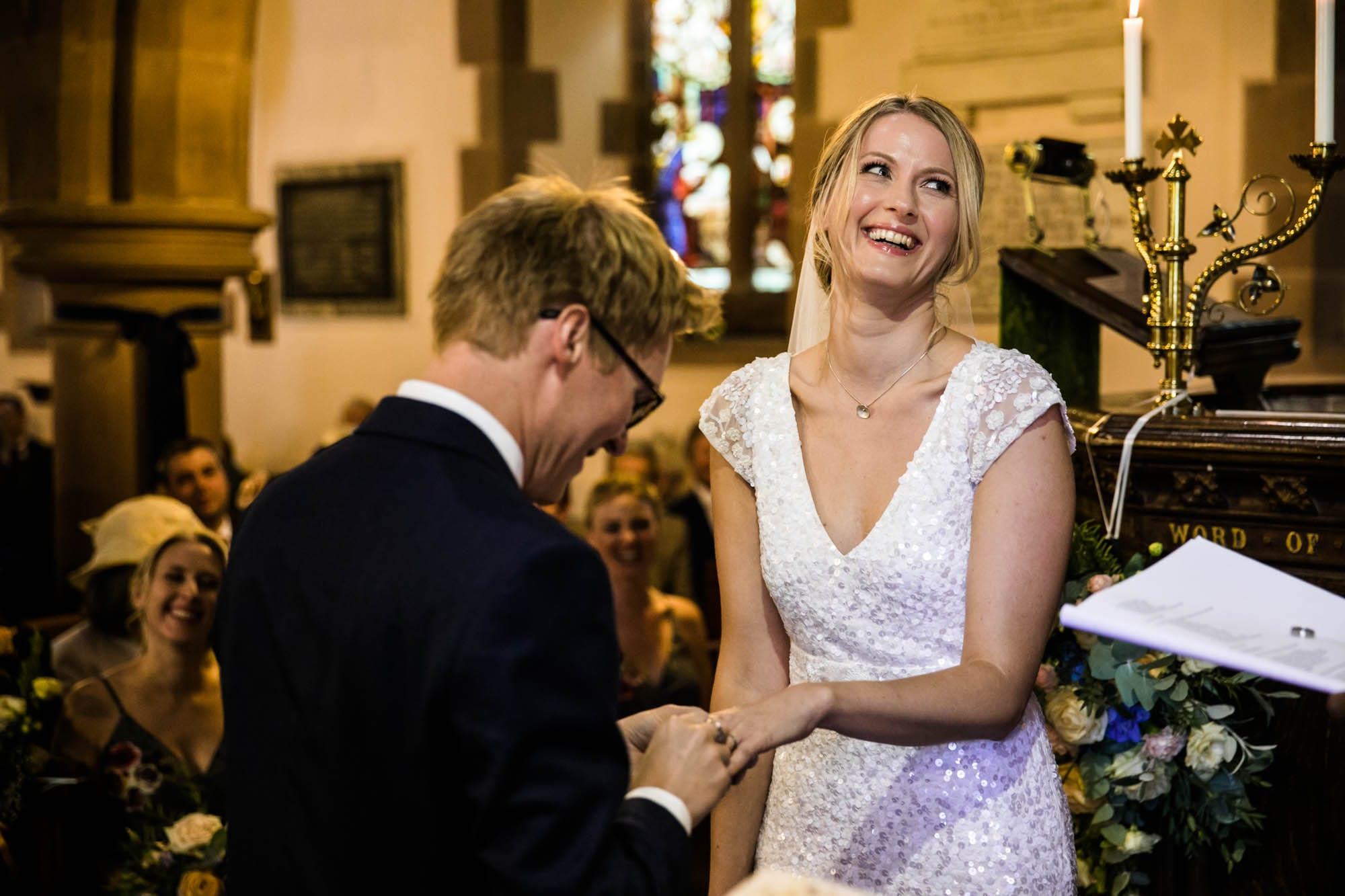 Wedding Photographs St Oswalds Backford