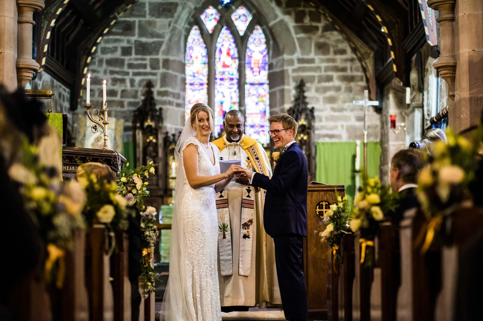 Wedding Photography St Oswalds Backford