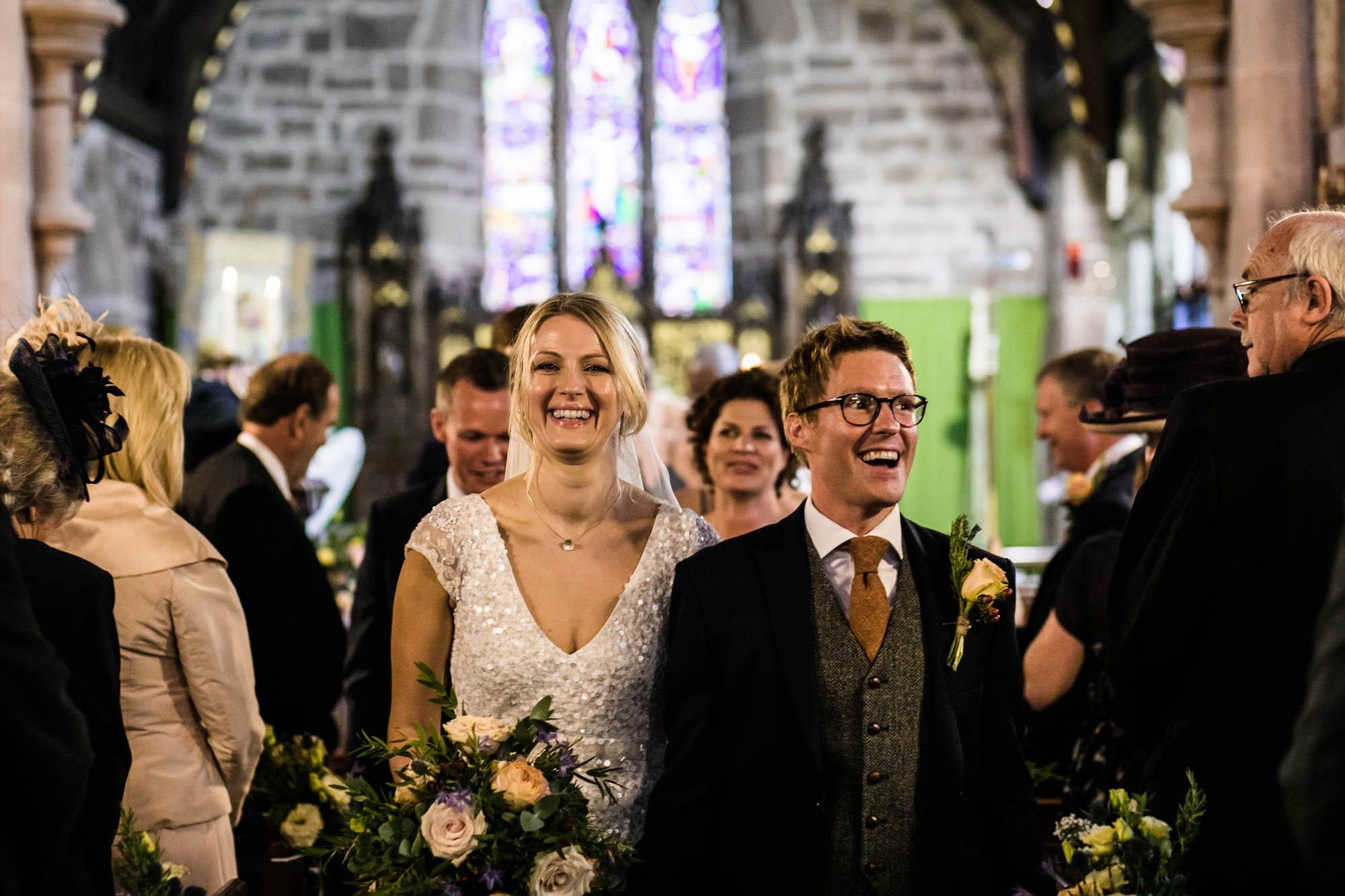 Wedding St Oswalds Backford