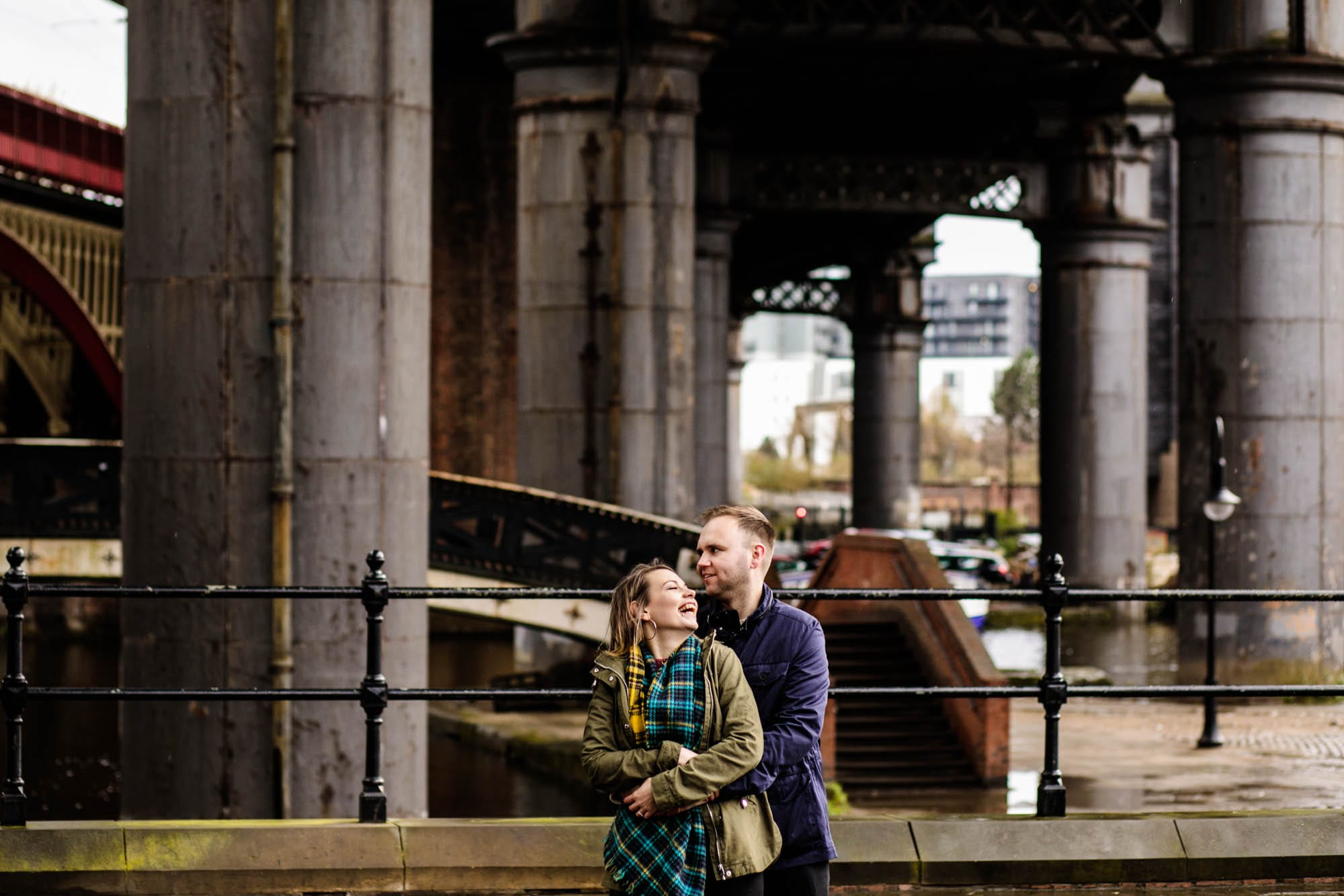 Engagement Shoot Castlefield