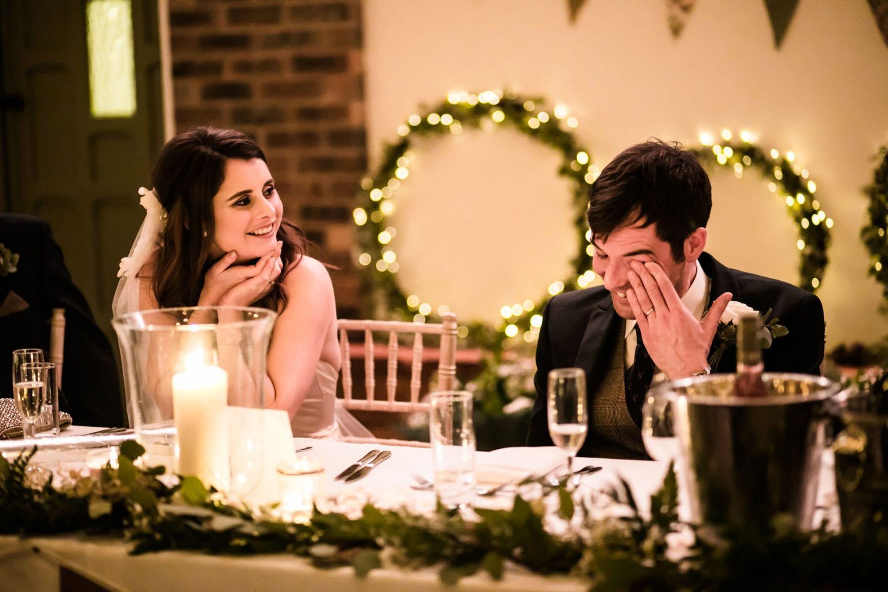 Fun Wedding Photographer Owen House Wedding Barn