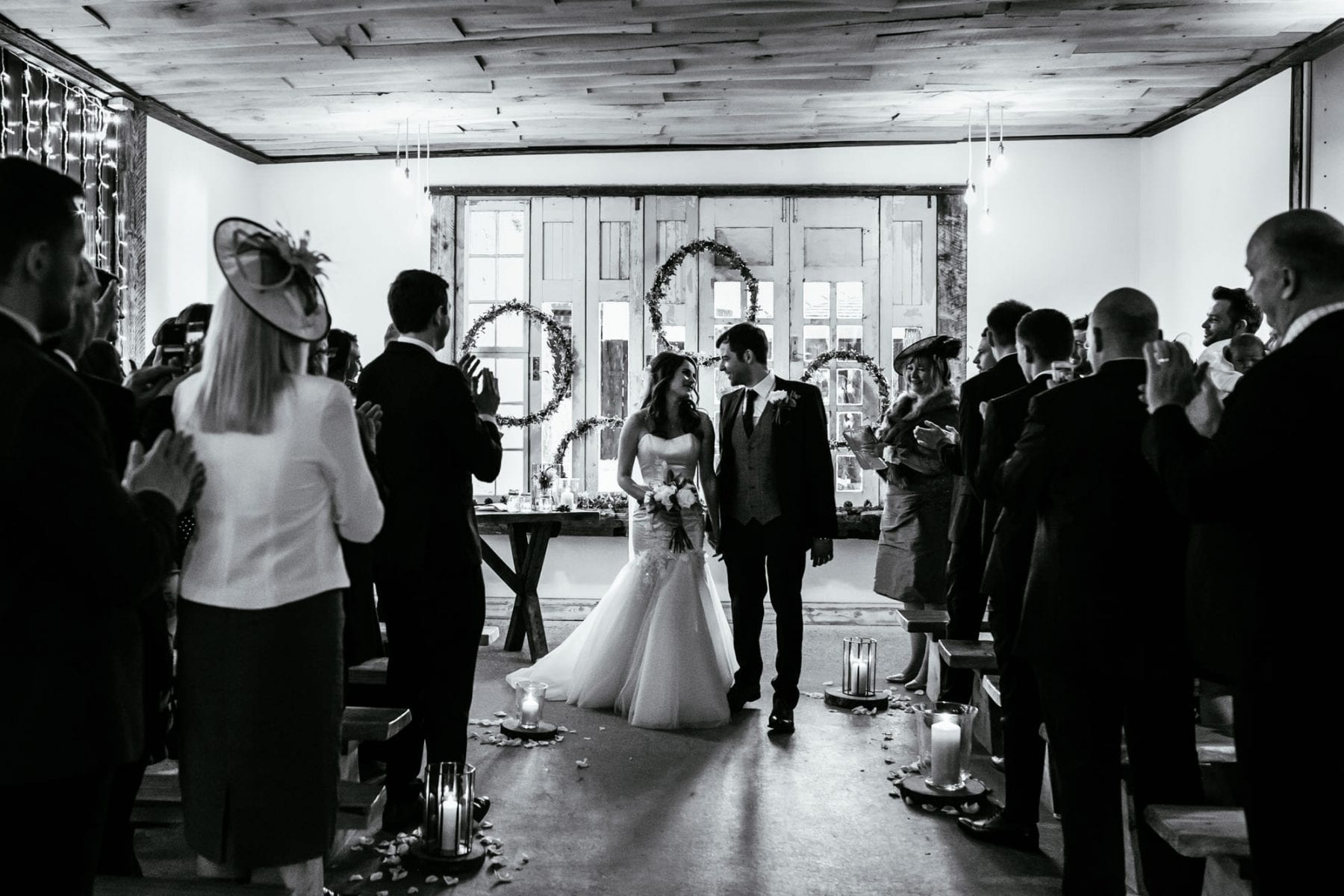 Owen House Barn Christmas Wedding Photographer