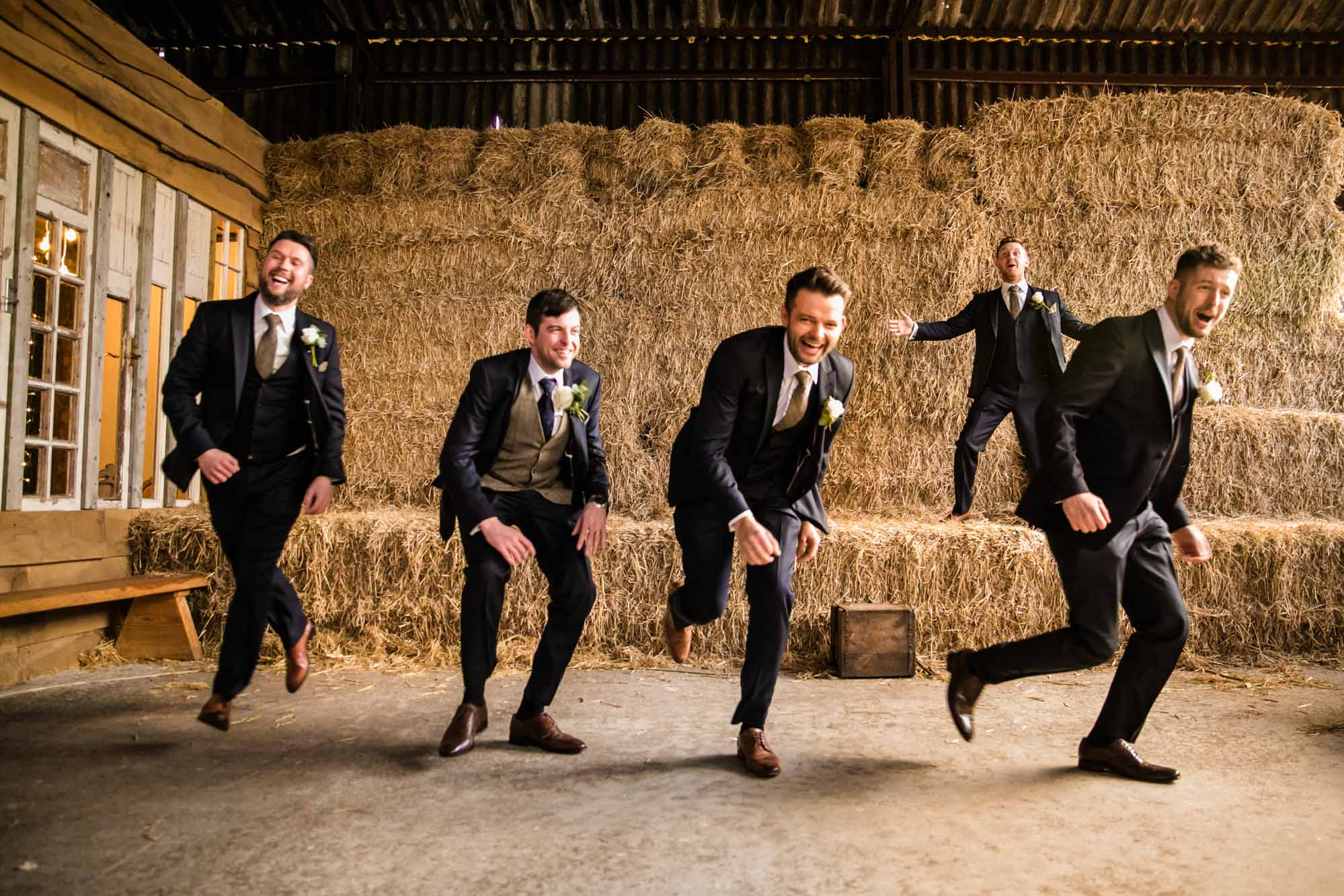 Owen House Barn Fun Wedding Photographs