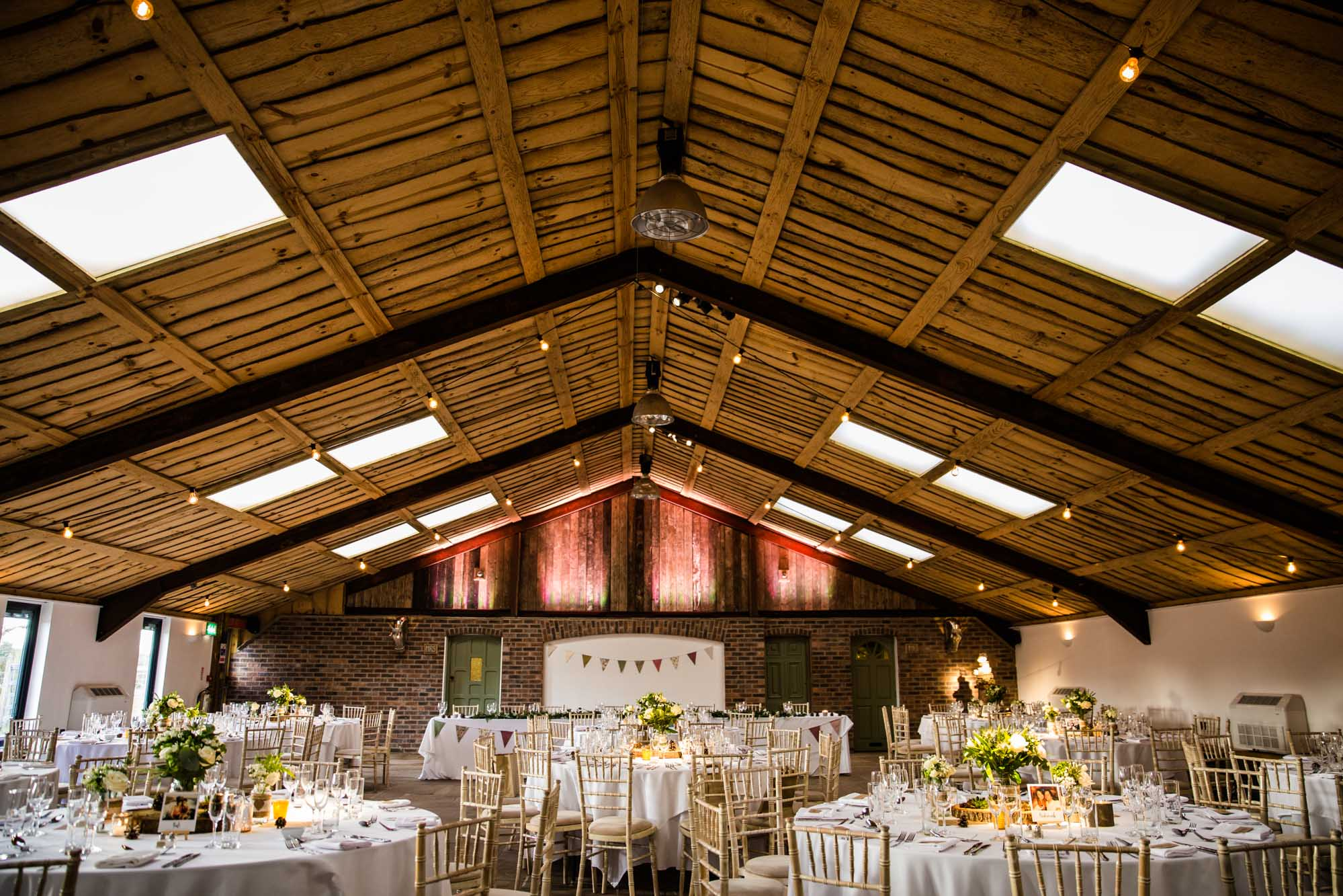 Winter Wedding at Owen House Wedding Barn
