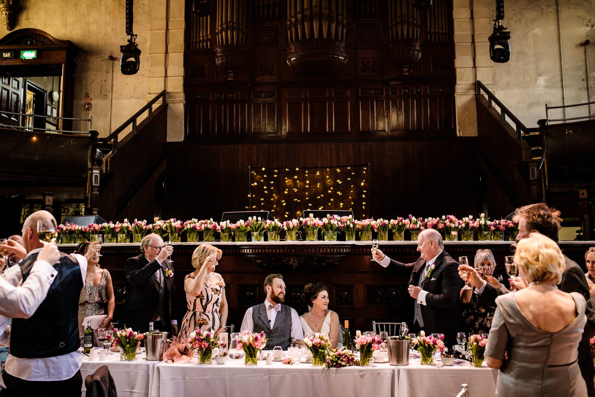Candid Wedding Photographer Albert Hall Manchester