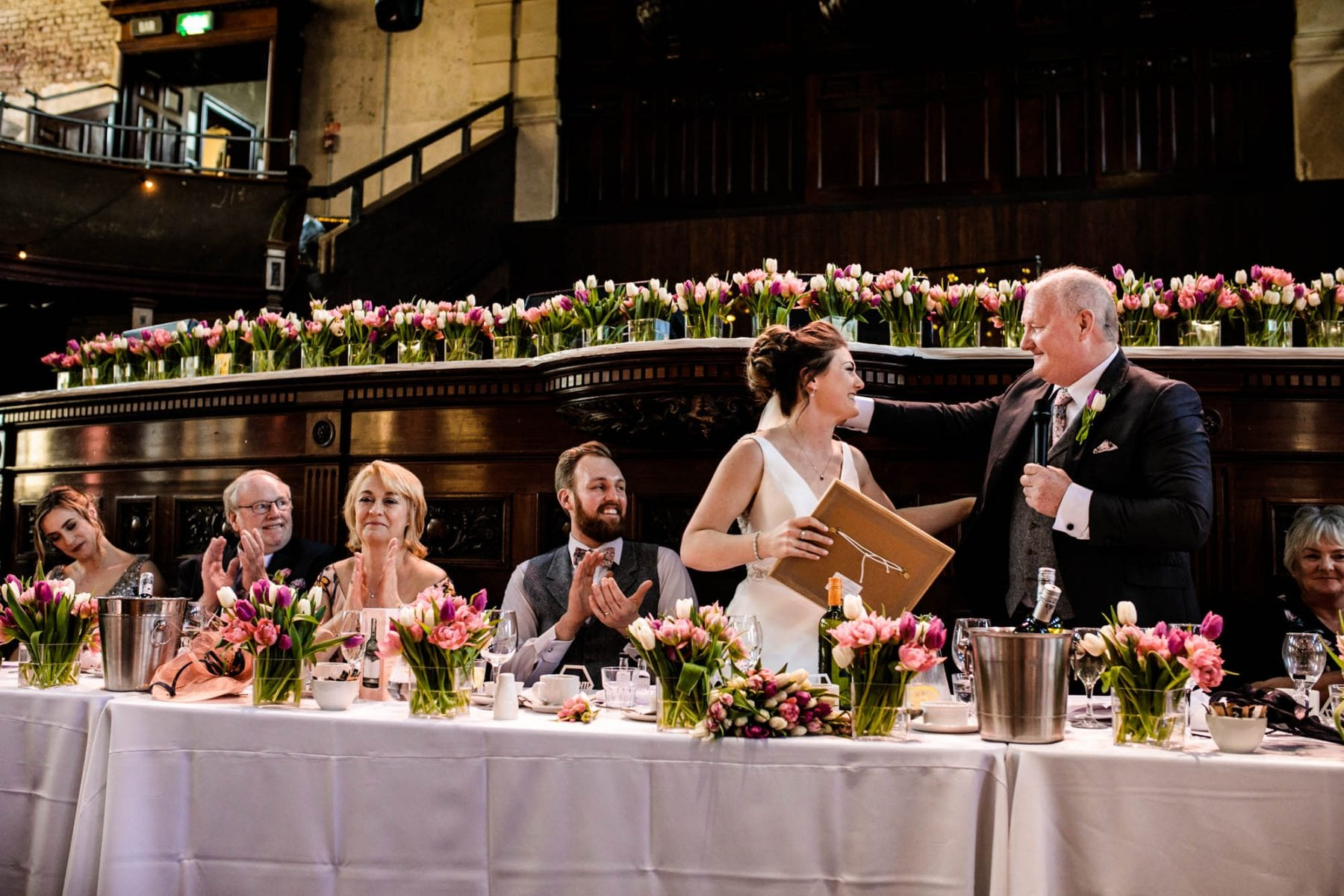 Candid Wedding Photographs Albert Hall Manchester