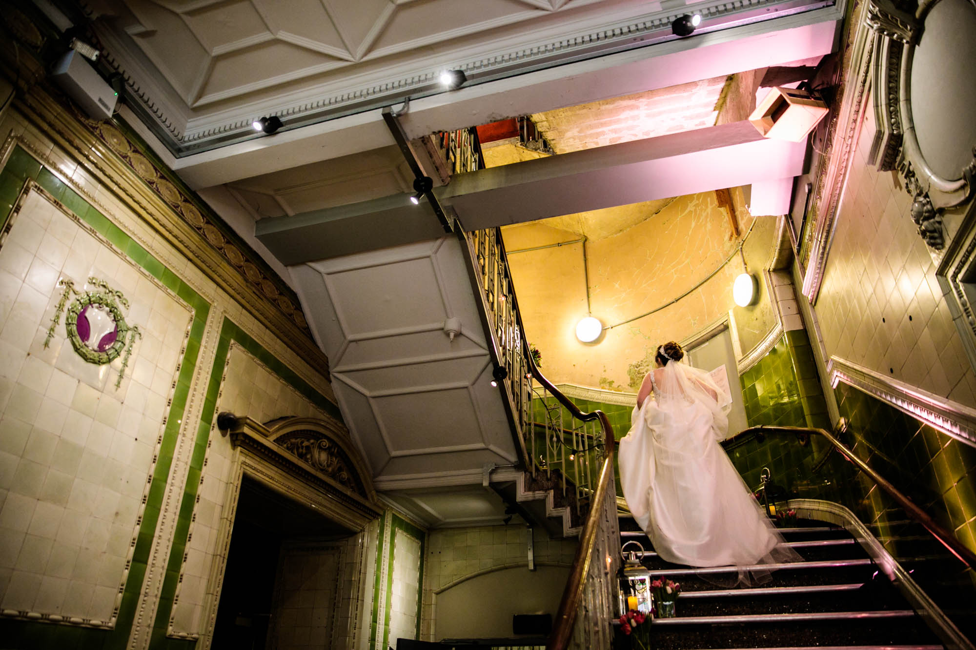 Documentary Wedding Photos Albert Hall Manchester