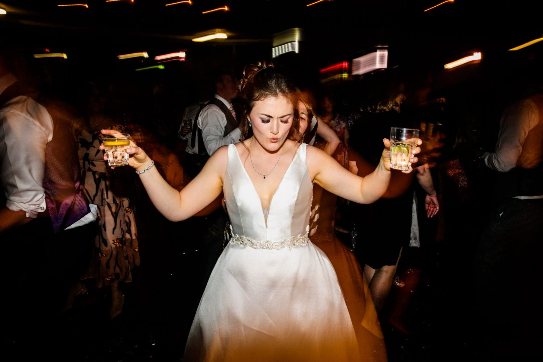 Fun Wedding Photographs Albert Hall