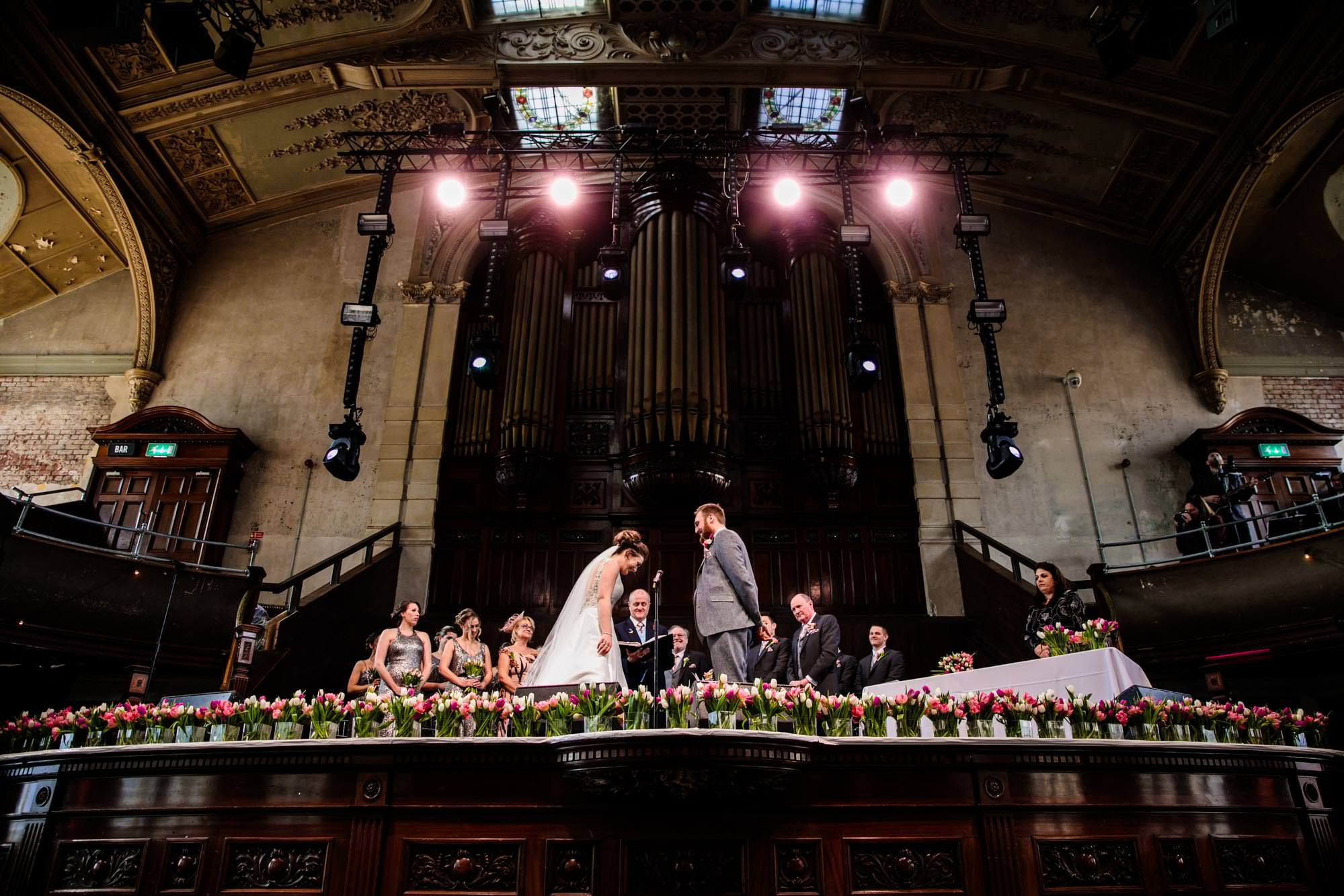 Wedding Albert Hall Manchester
