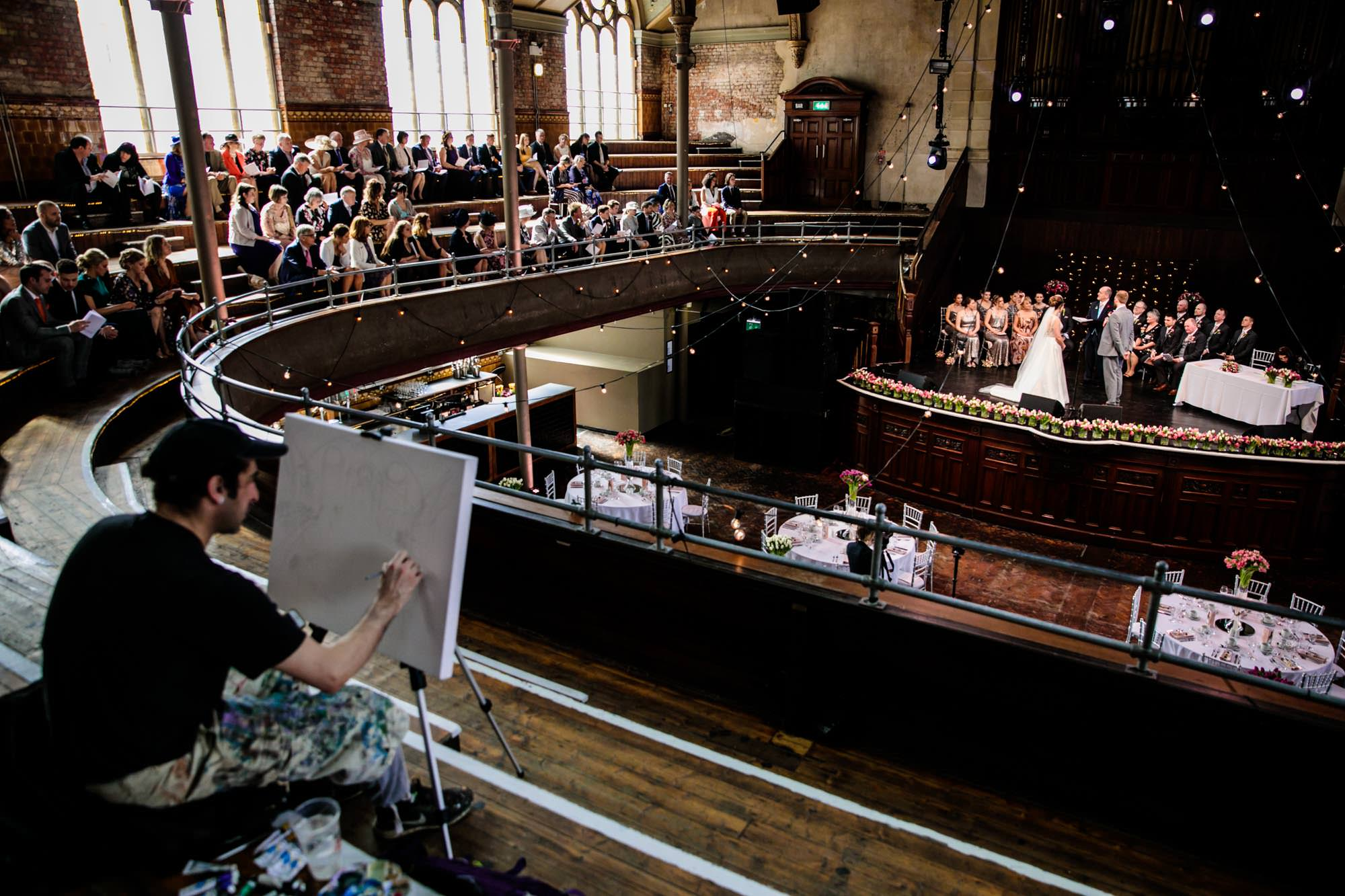 Wedding at Albert Hall Manchester