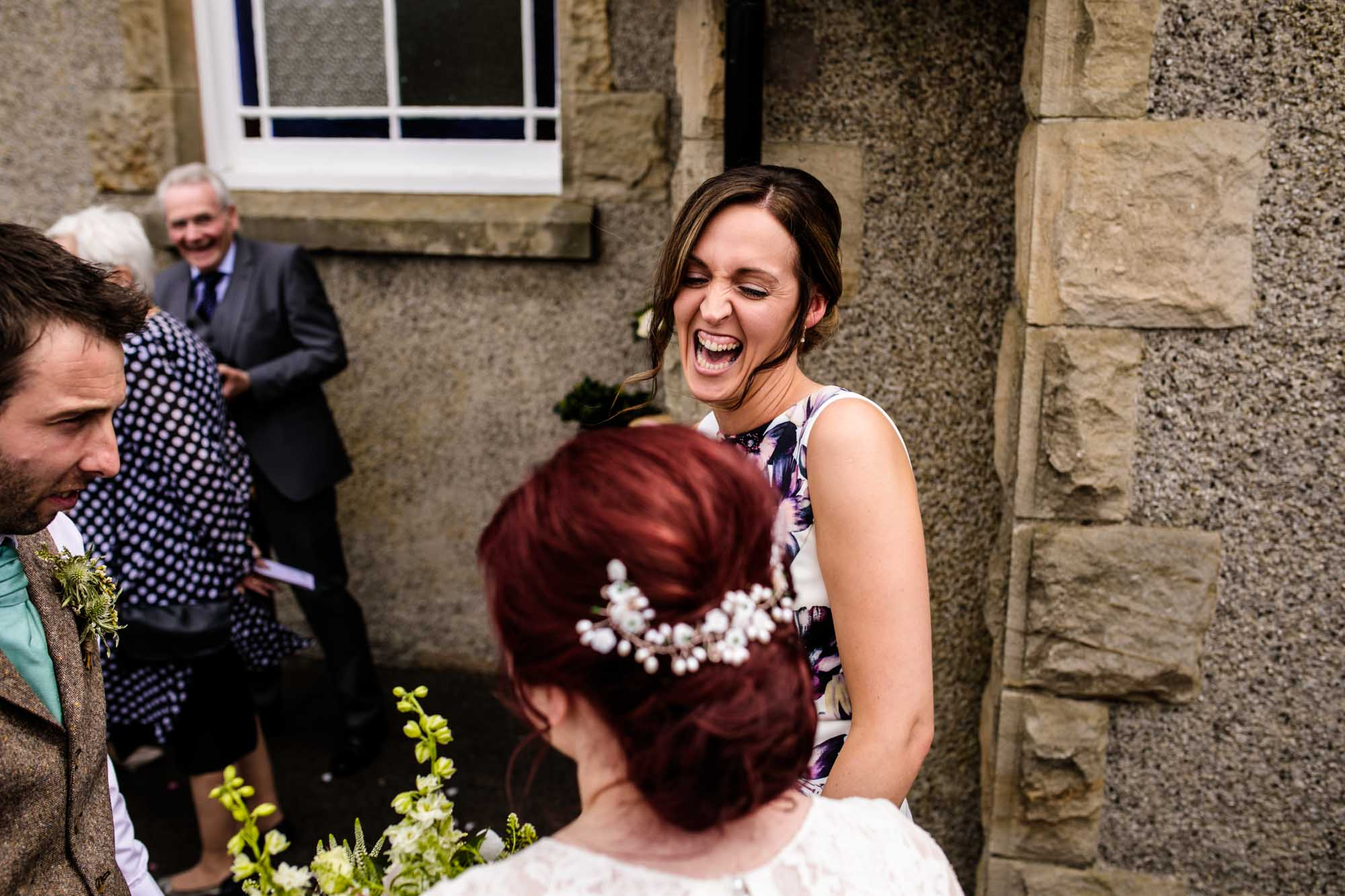 Colourful Wedding Photographs Wrexham