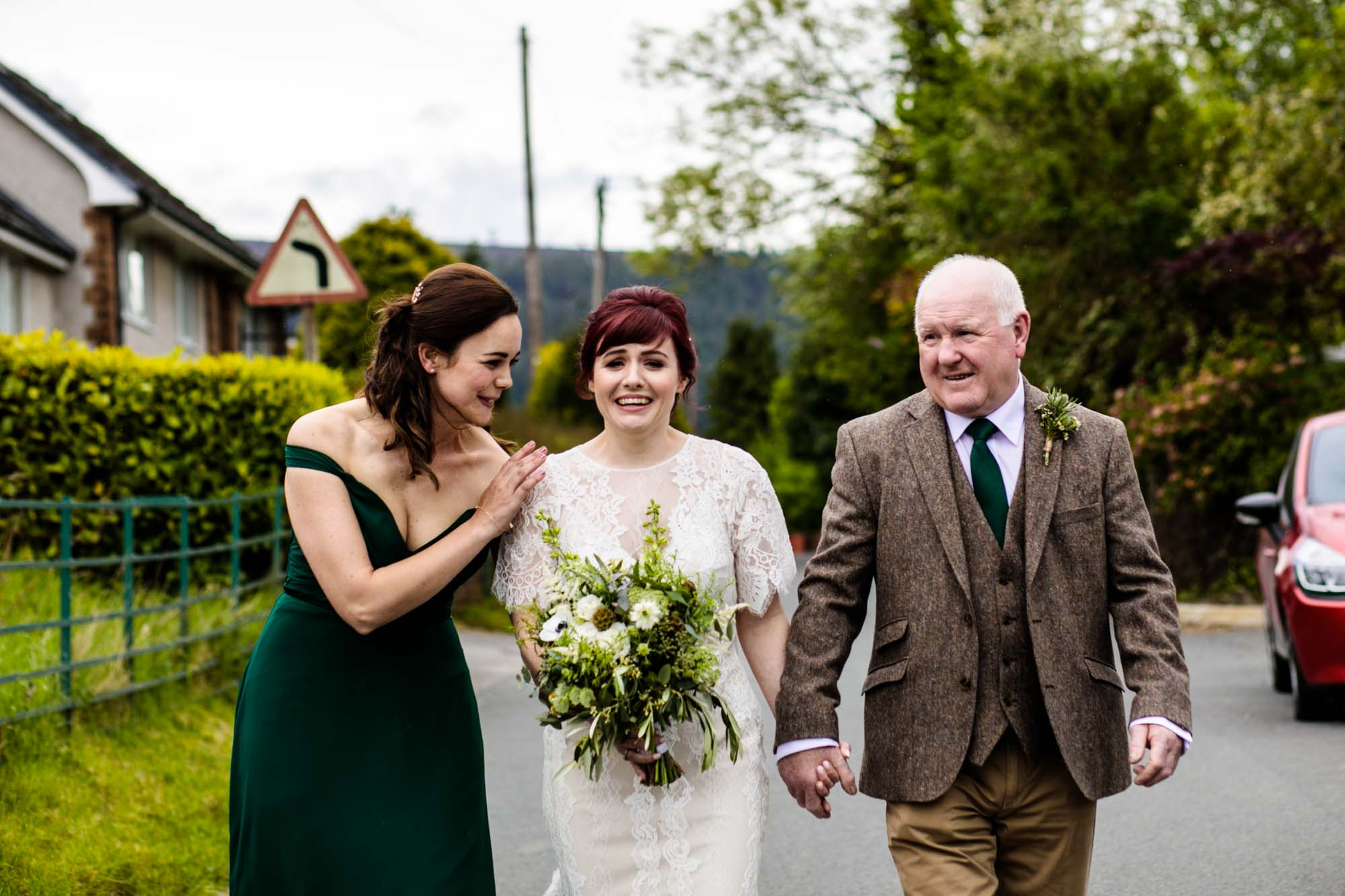 Colourful Wedding Photos North Wales