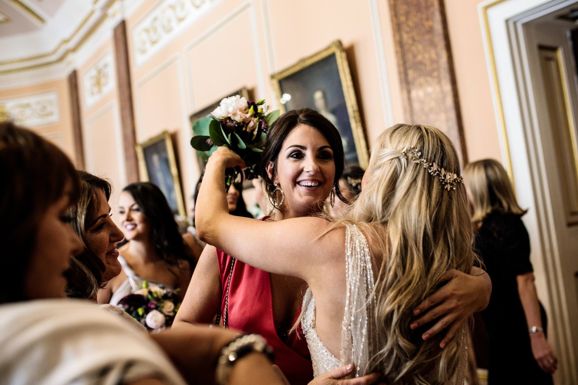 Fun Wedding Photographs Liverpool Town Hall