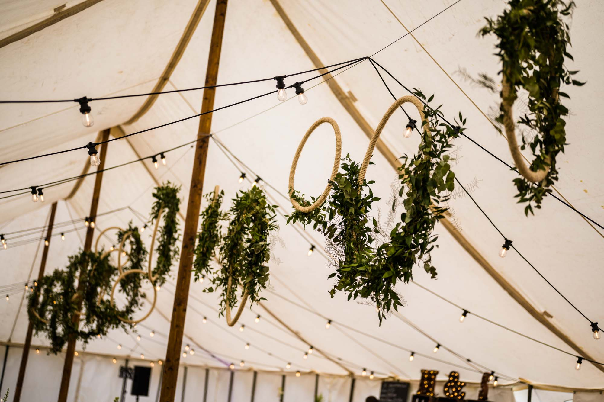 Green Marquee Wedding Decoration