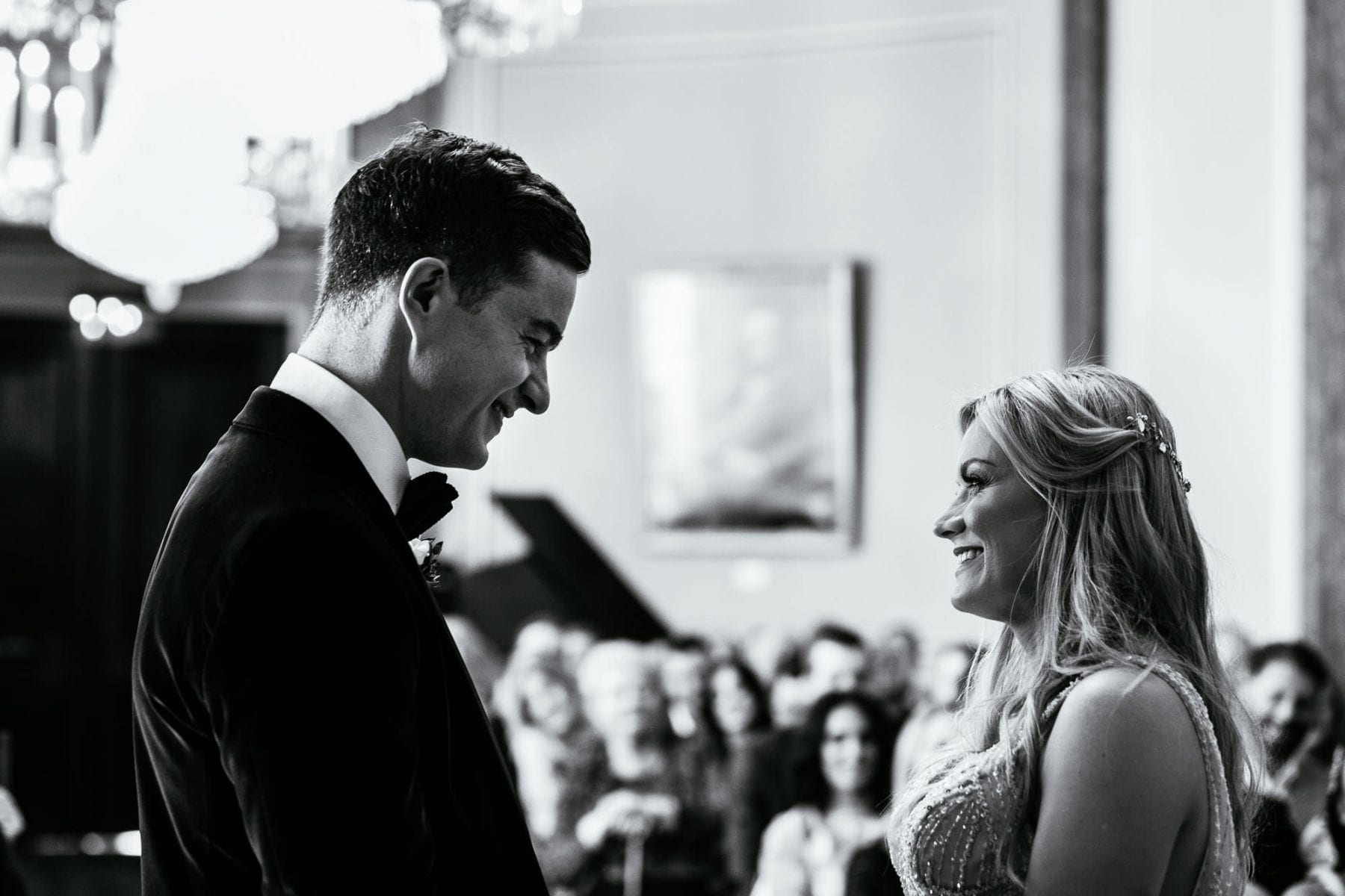 Natural Wedding Photographs Liverpool Town Hall