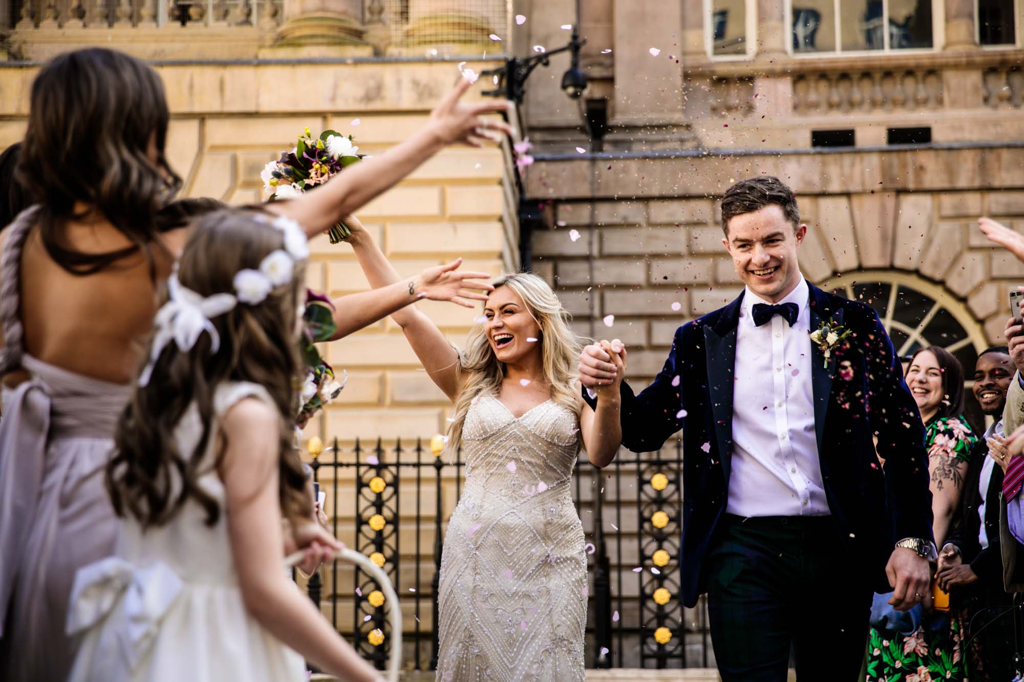 Wedding Photographs Liverpool Town Hall