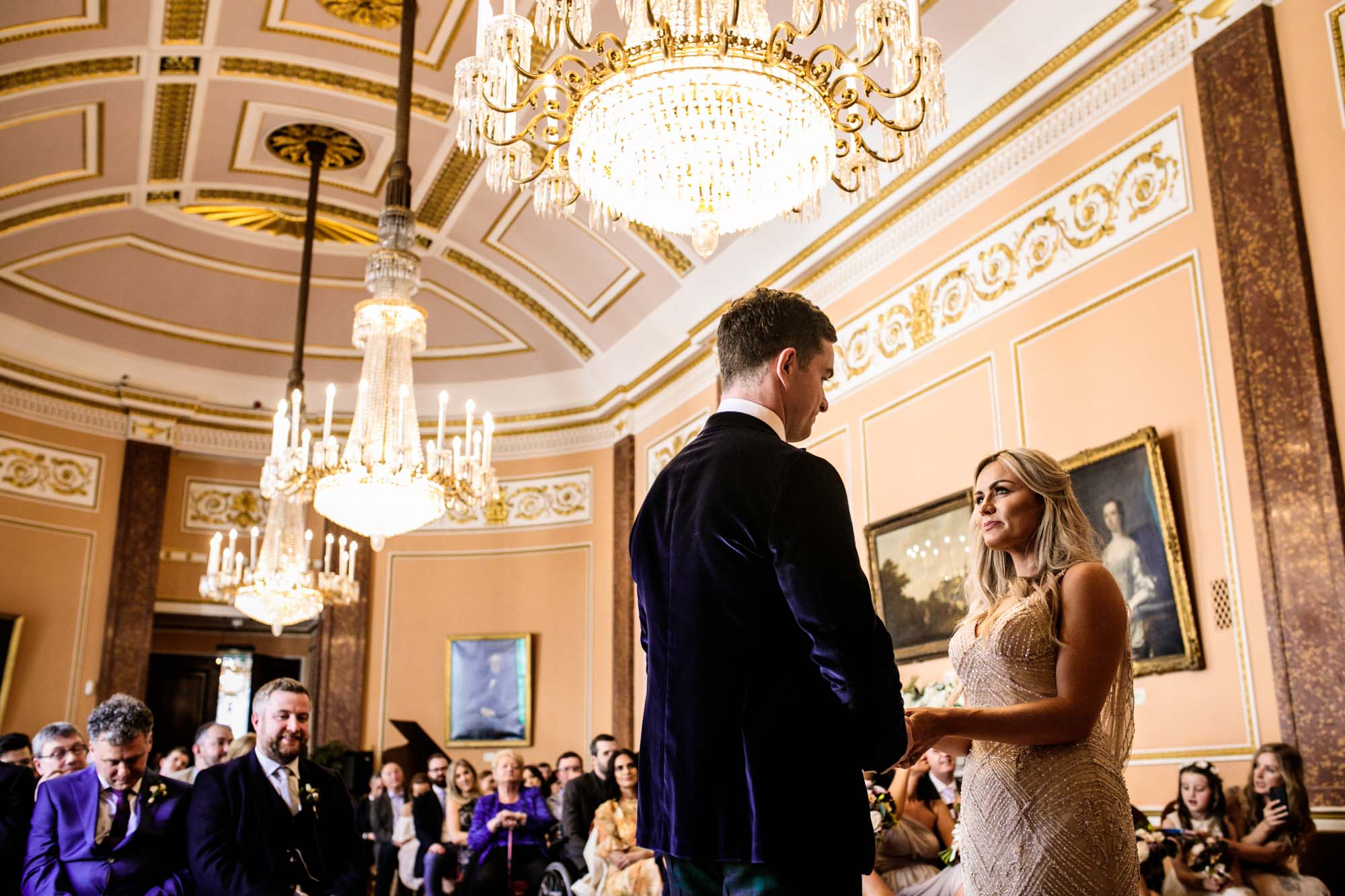 Wedding Photography Liverpool Town Hall