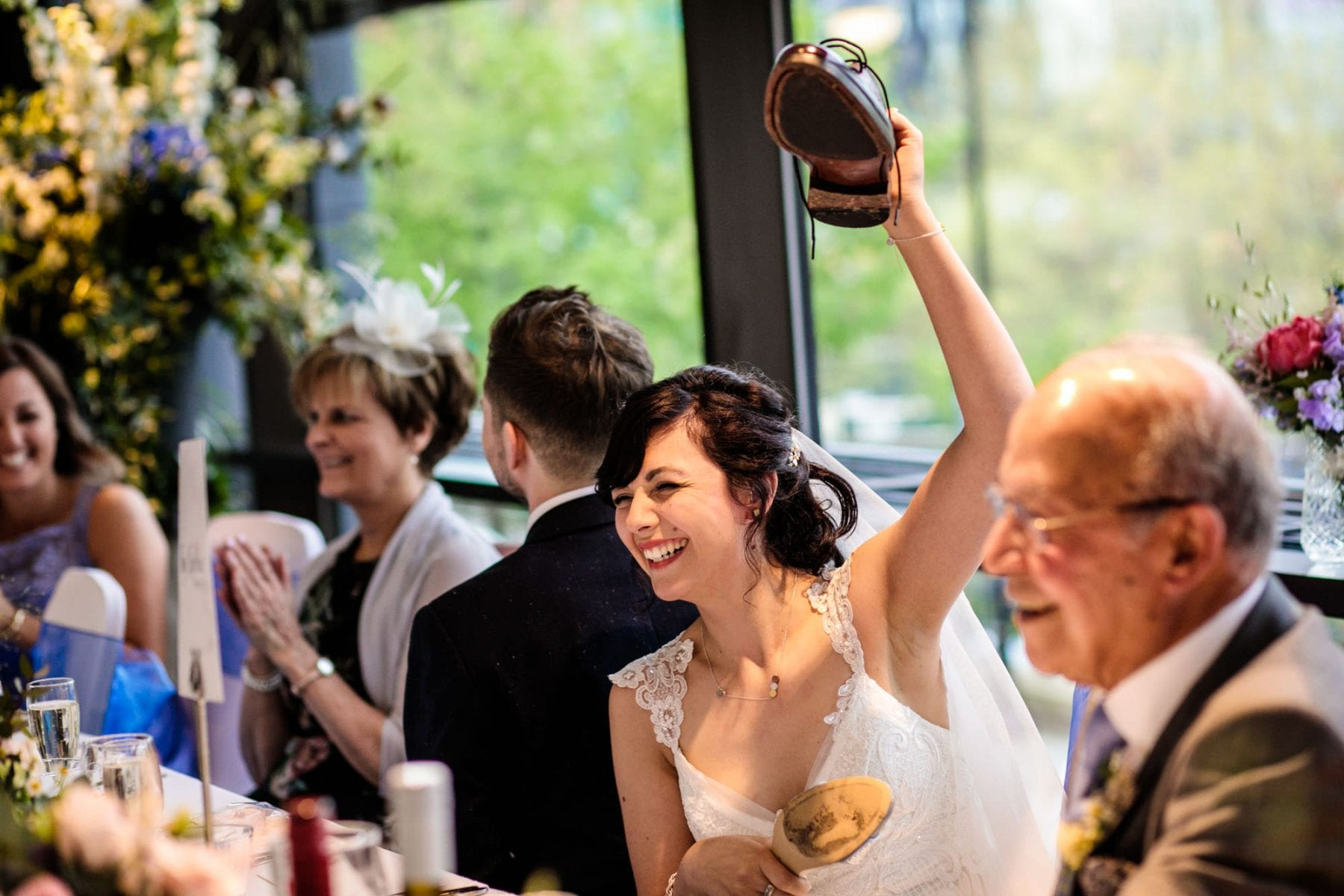 Castlefield Rooms Natural Wedding Photographs