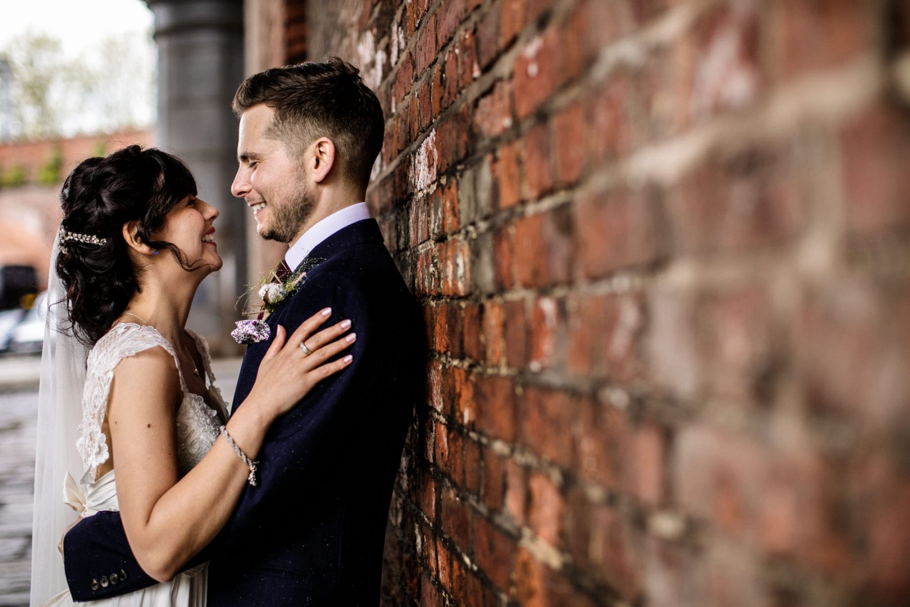 Castlefield Rooms Wedding Photographs